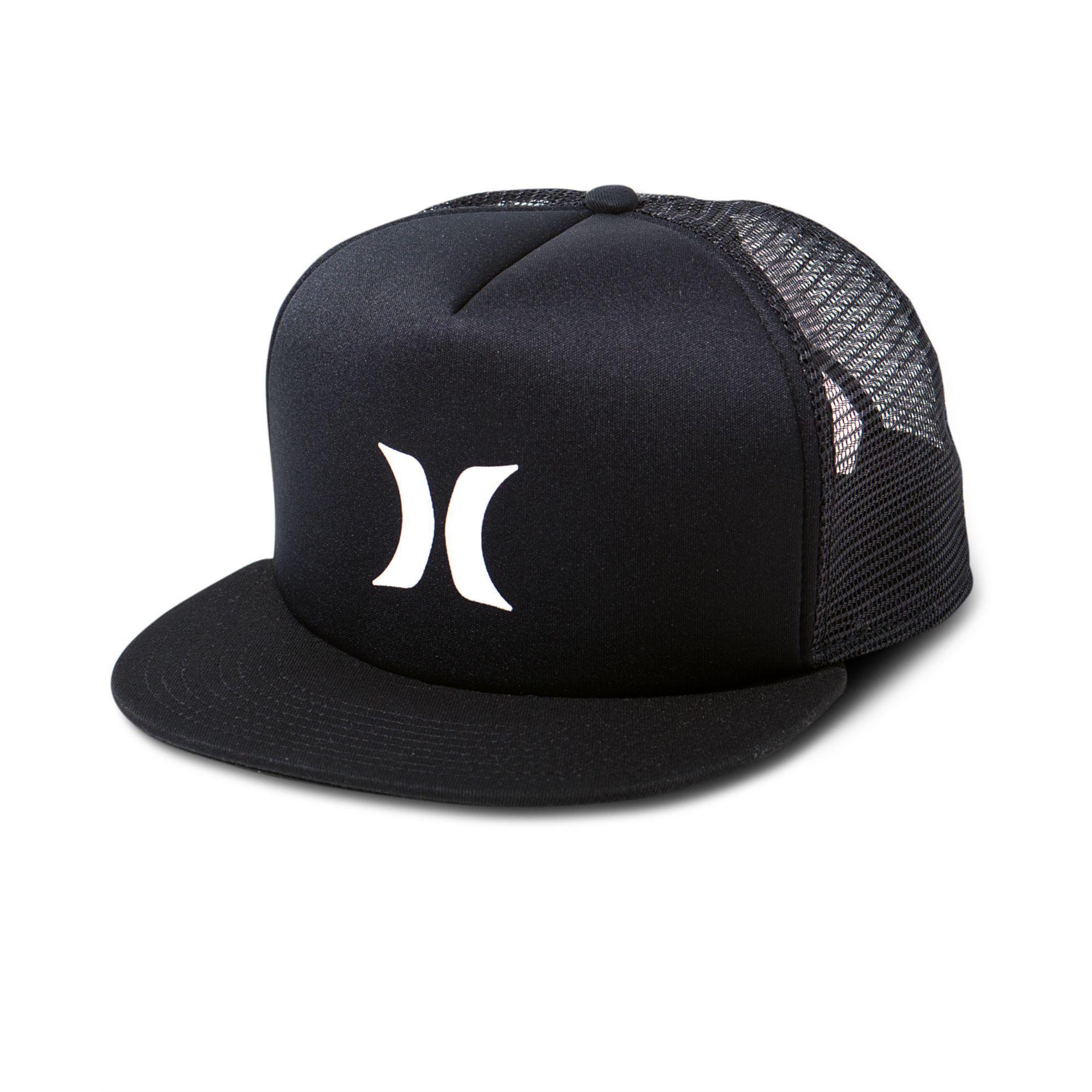 5824dc91894 Lyst Hurley 5 Panel Trucker Hat In Black For Men