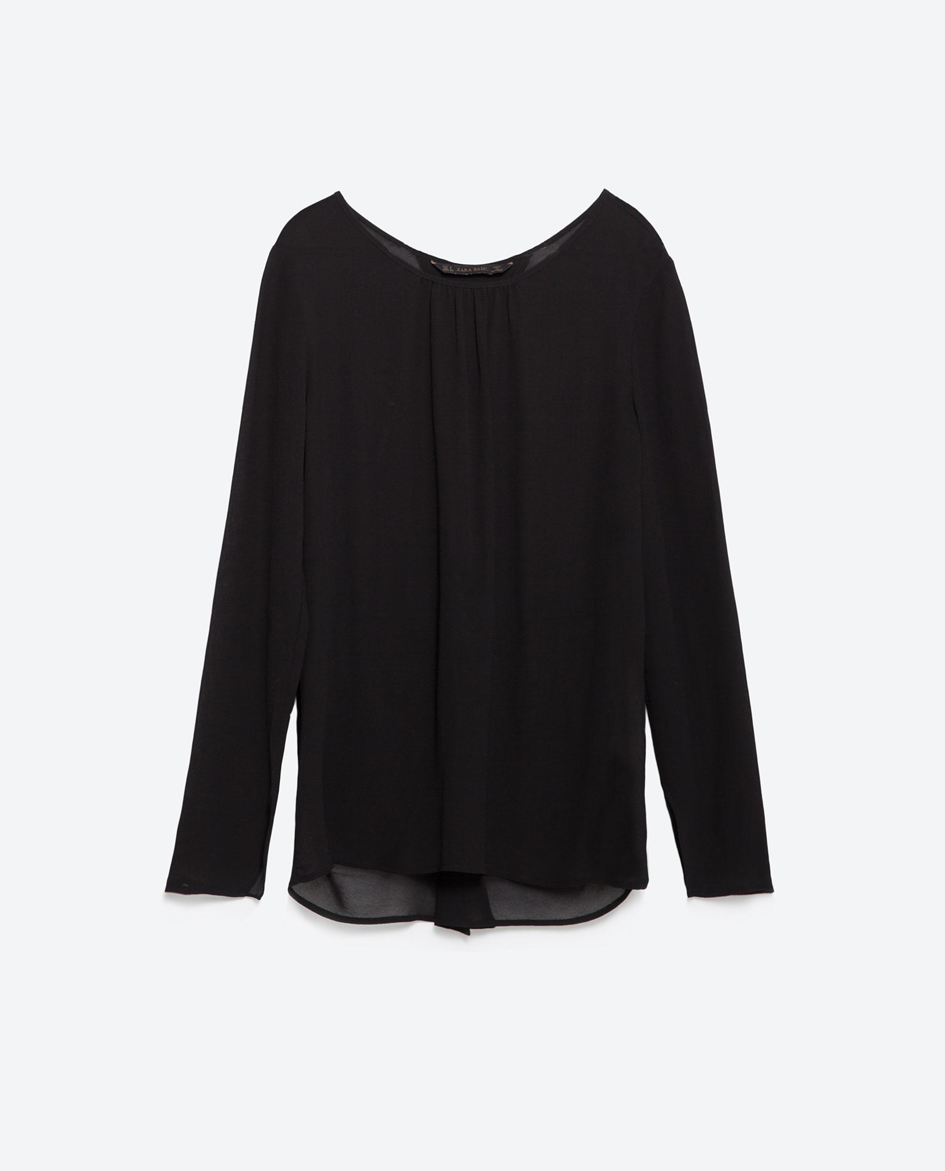 Zara Backless Blouse 78