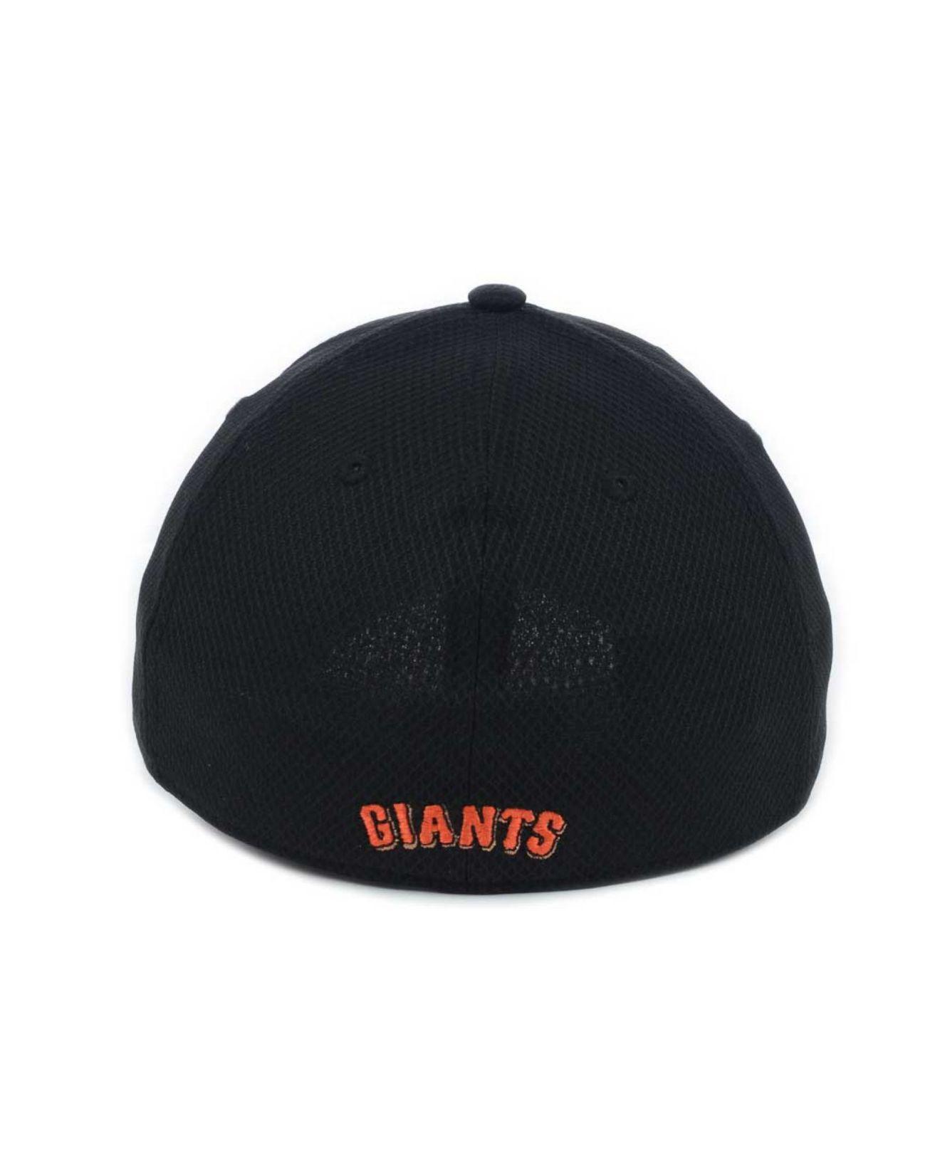 3de1f48381a1ed KTZ San Francisco Giants Diamond Era 39Thirty Cap in Black for Men ...