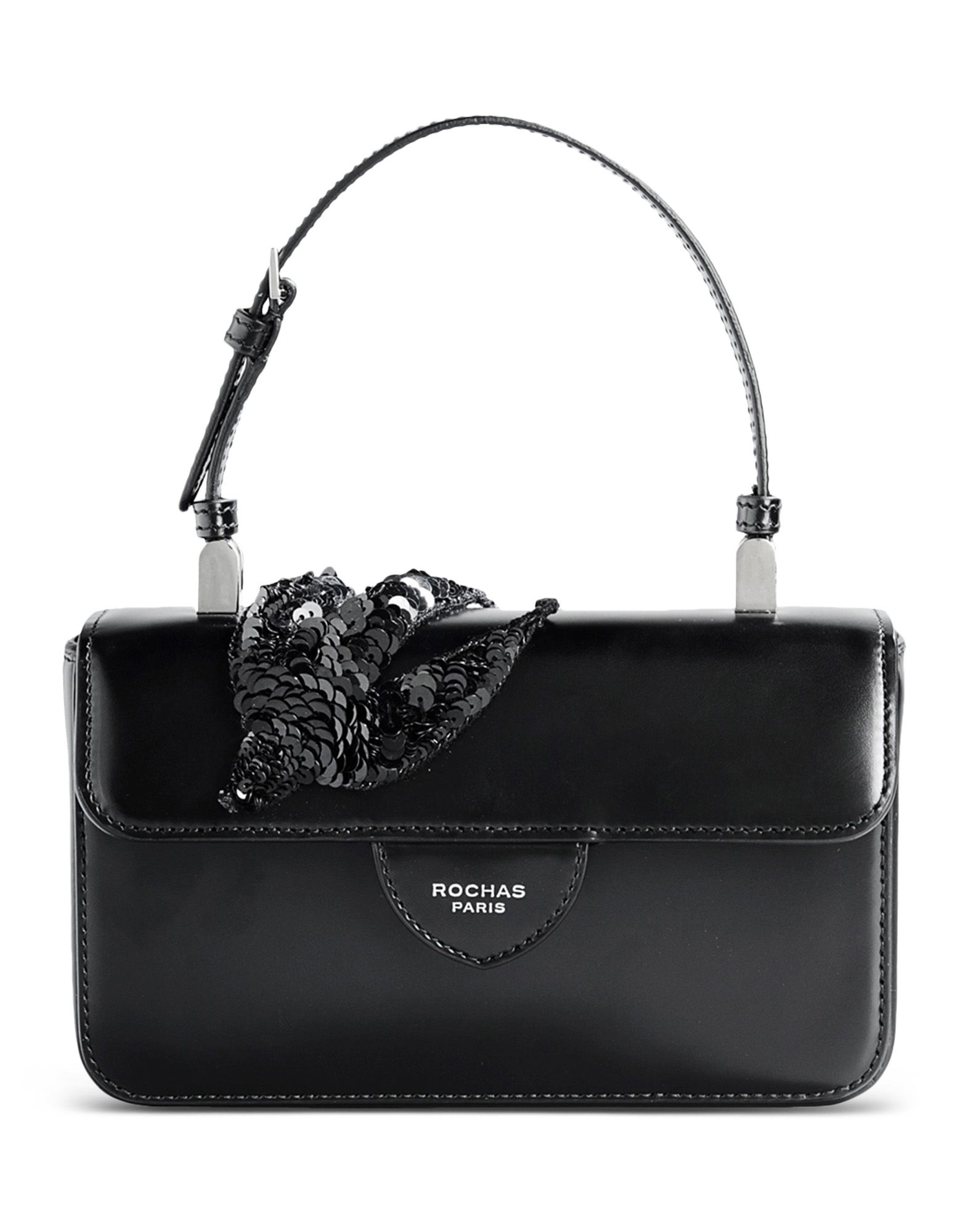 2bae9d31e5c7 Small Black Leather Bag | Stanford Center for Opportunity Policy in ...
