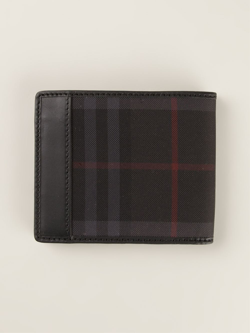 Burberry Horseferry Check Wallet in Brown for Men (black ...