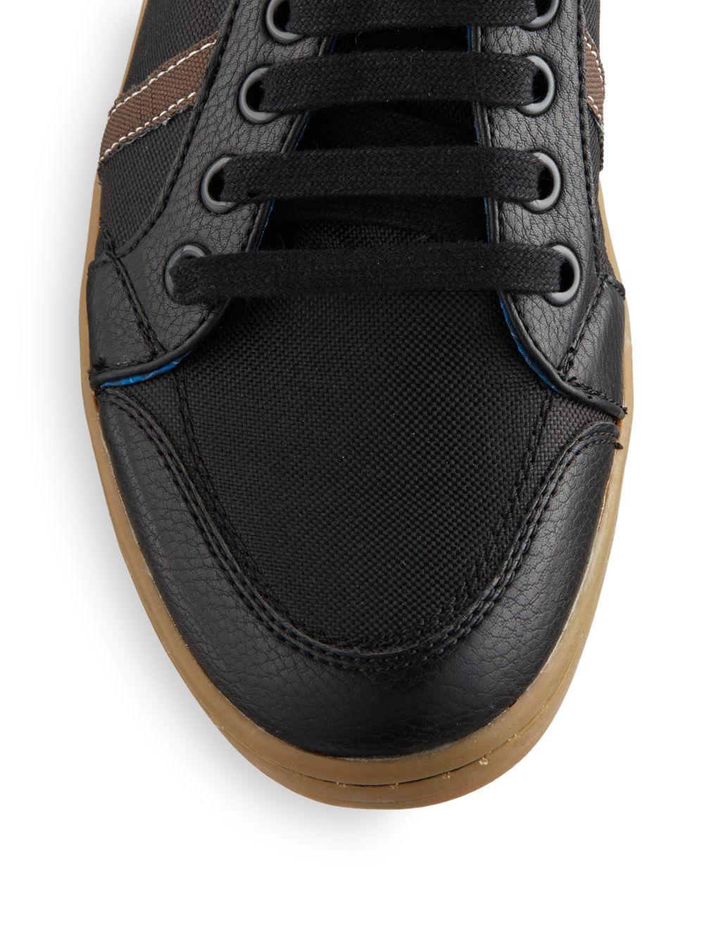 ben sherman knox sneaker in black for men lyst