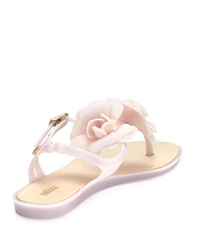 bc44c986b1abfa Lyst - Melissa Solar Garden Thong Sandal in Pink