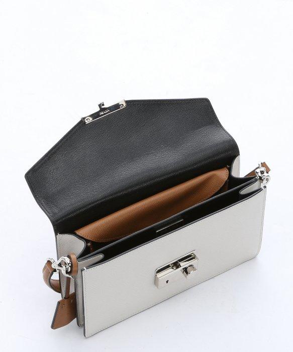 prada caramel leather saffiano model bag