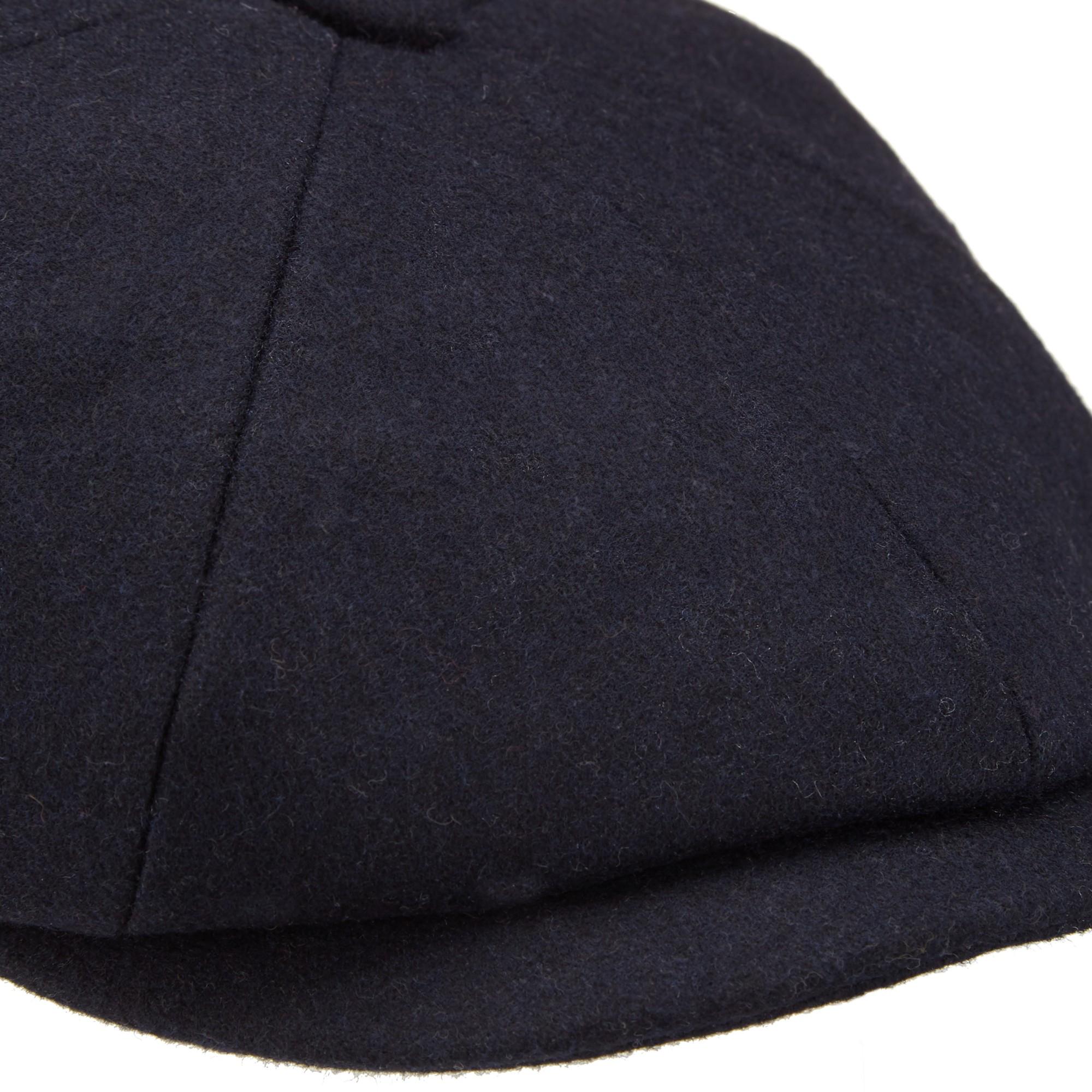 b992b9e9b70 John Lewis Melton Baker Boy Hat in Blue for Men - Lyst