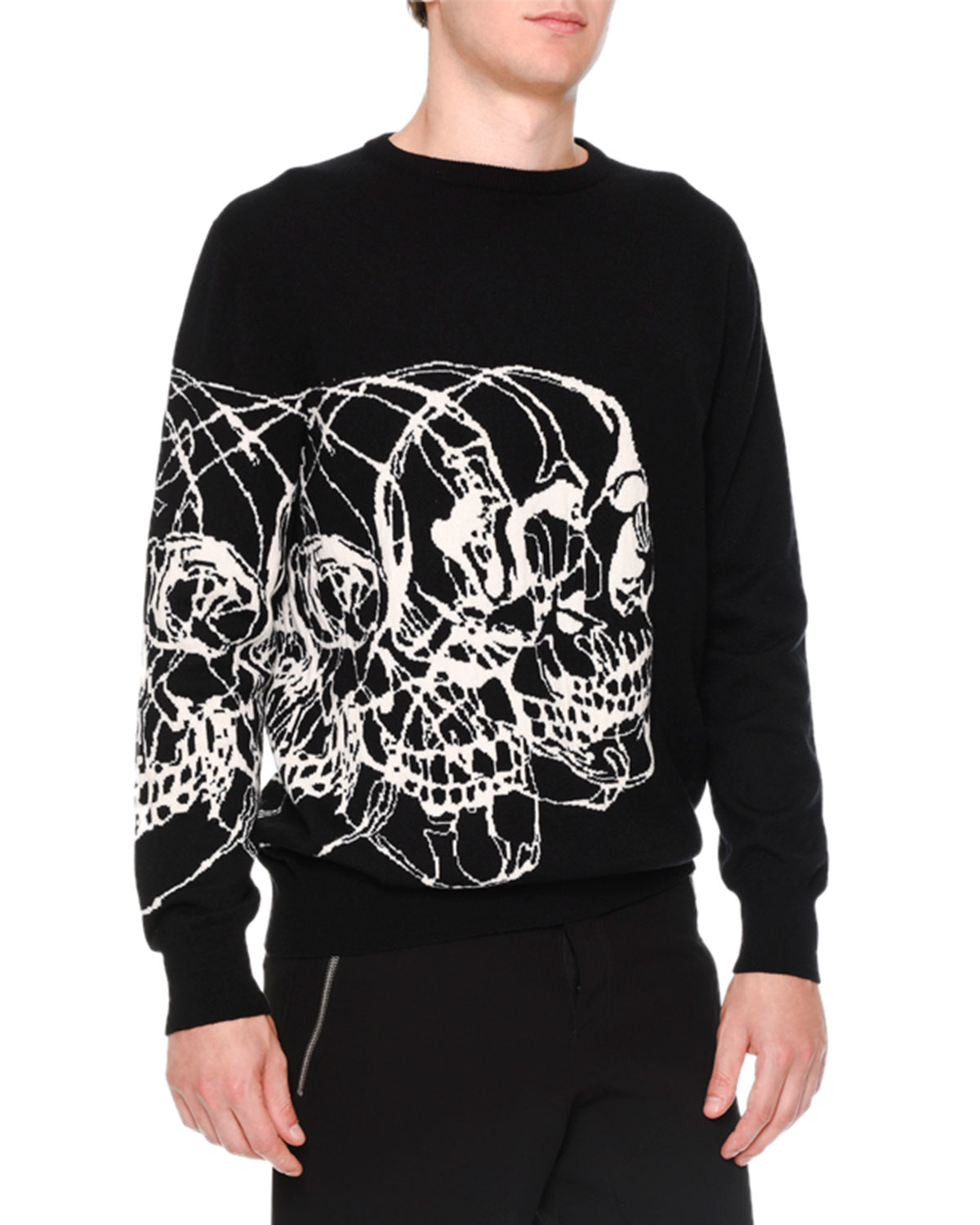 skull print sweatshirt - Red Alexander McQueen Clearance Pay With Paypal Clearance Affordable 8YJrZ2GwRI