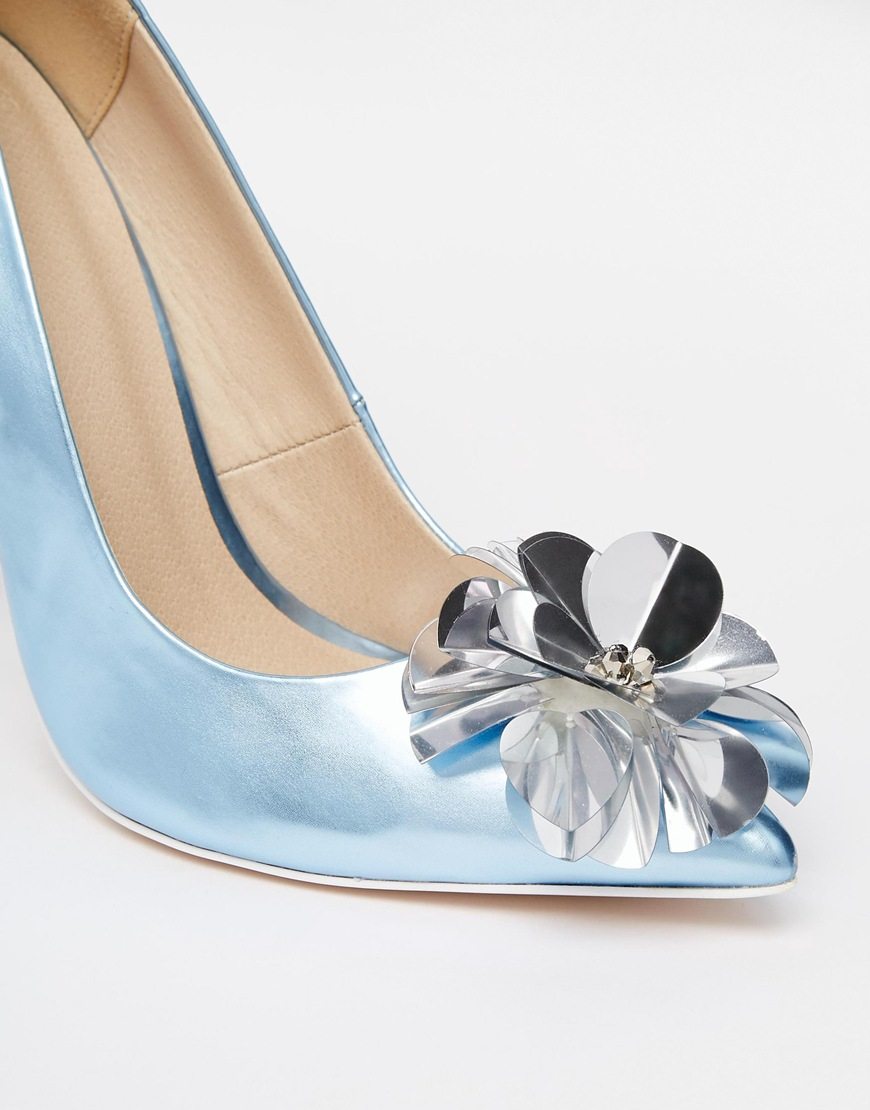 Ice Blue High Heels