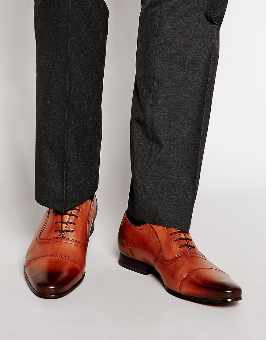 Ted Baker Rogrr Oxford Shoes in Tan