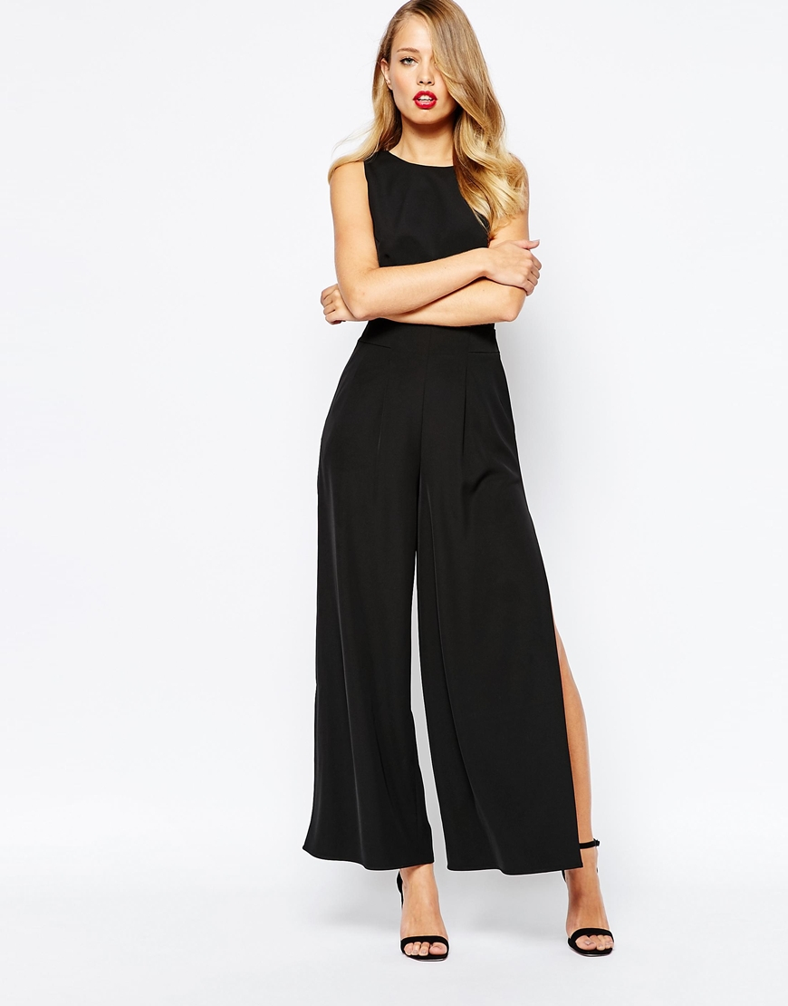 08fa700e79 Lyst - Finders Keepers Held High Jumpsuit In Black in Black