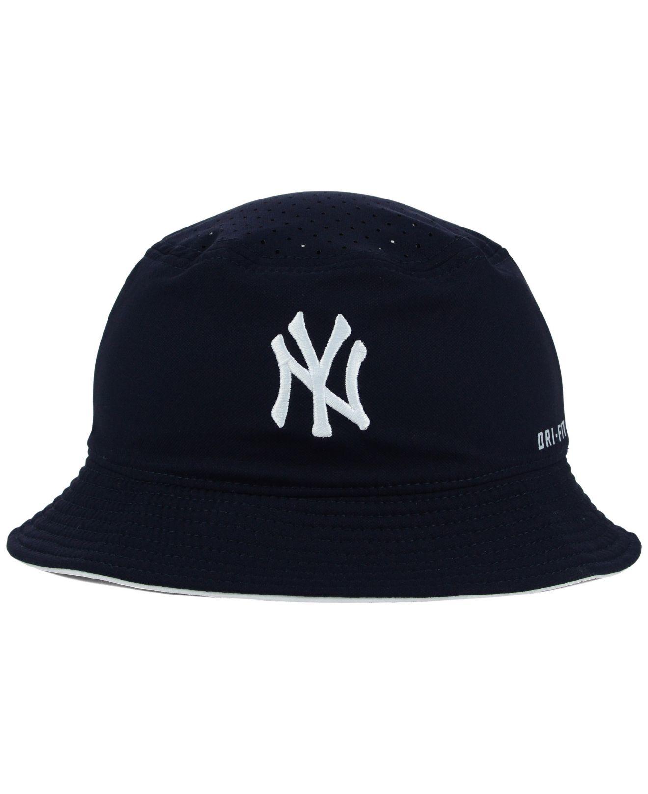 f58fe16462 Nike New York Yankees Vapor Dri-fit Bucket Hat in Blue for Men - Lyst