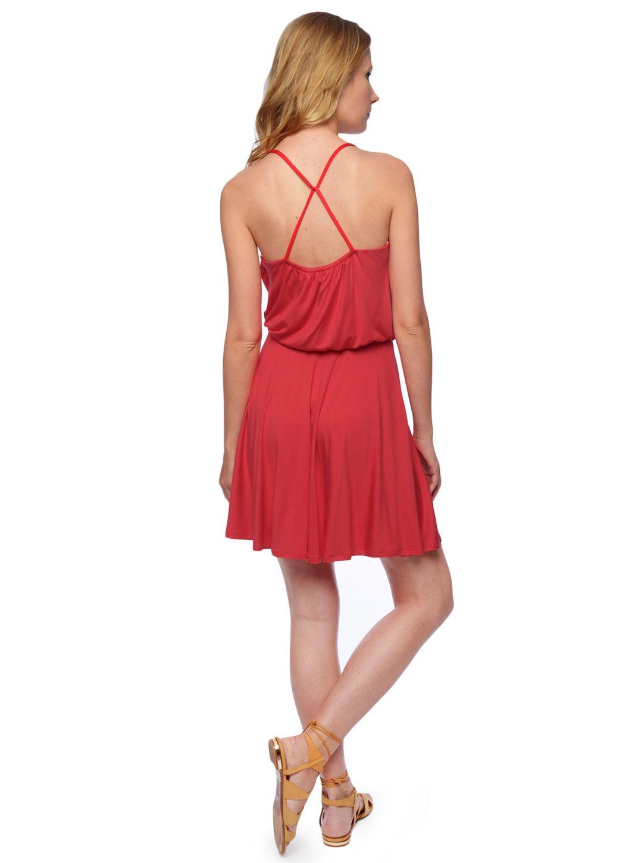0e6cca6a60b Ella moss Bella Surplice Dress in Red