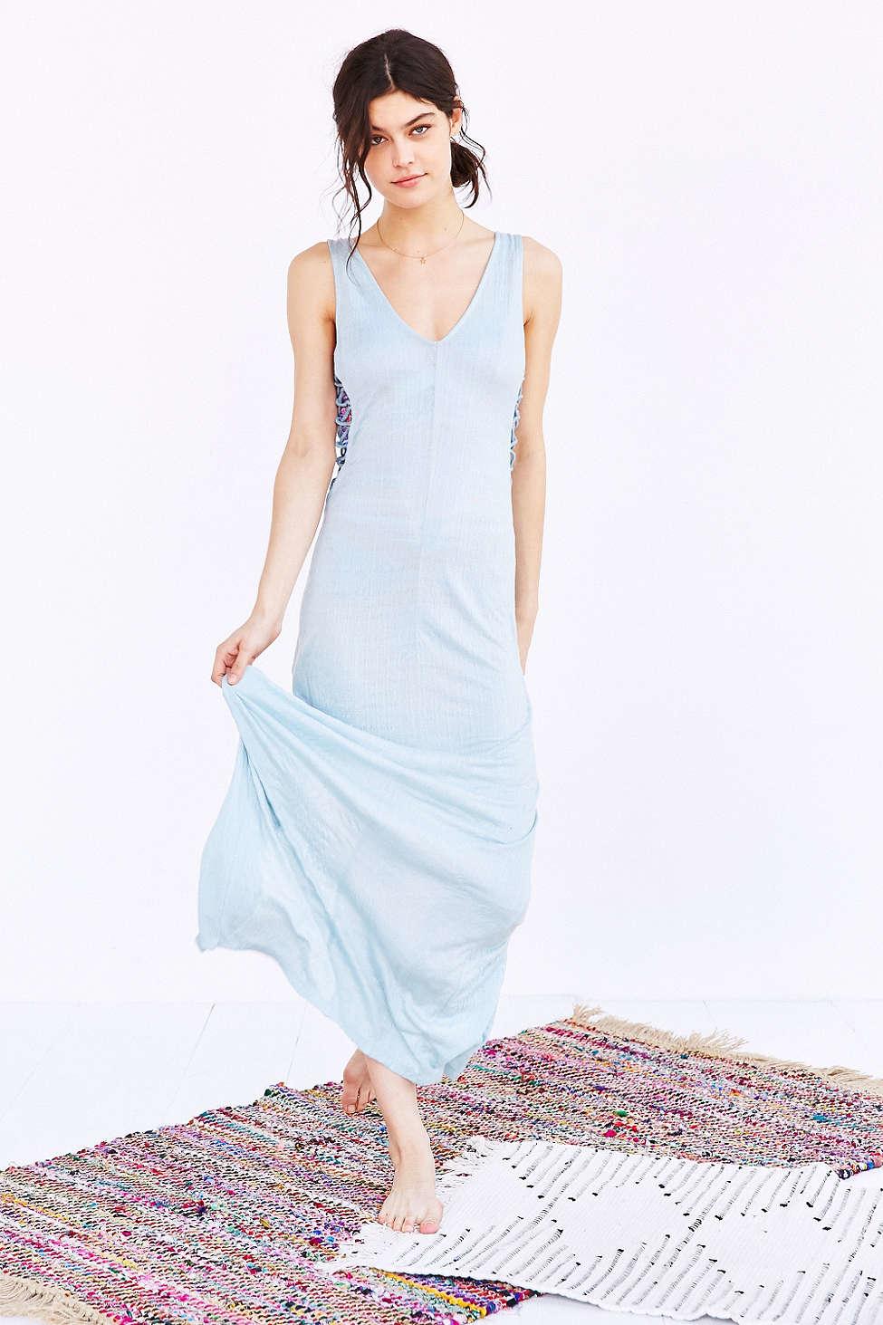 Under skies maxi dress