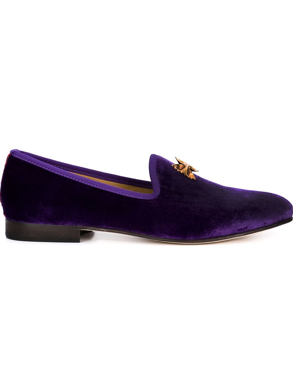 toro bow slippers in purple for pink purple lyst