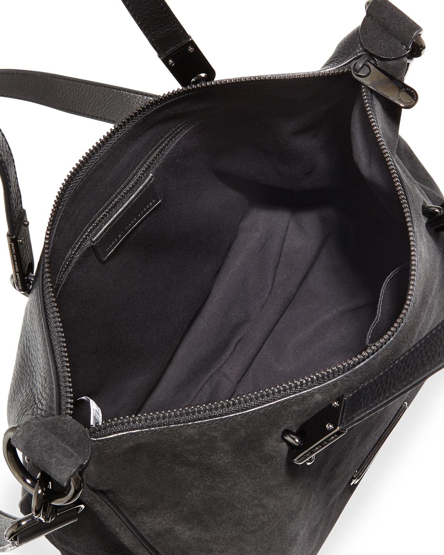 Marc by marc jacobs Ligero Sporty Suede Ninja Shoulder Bag in ...