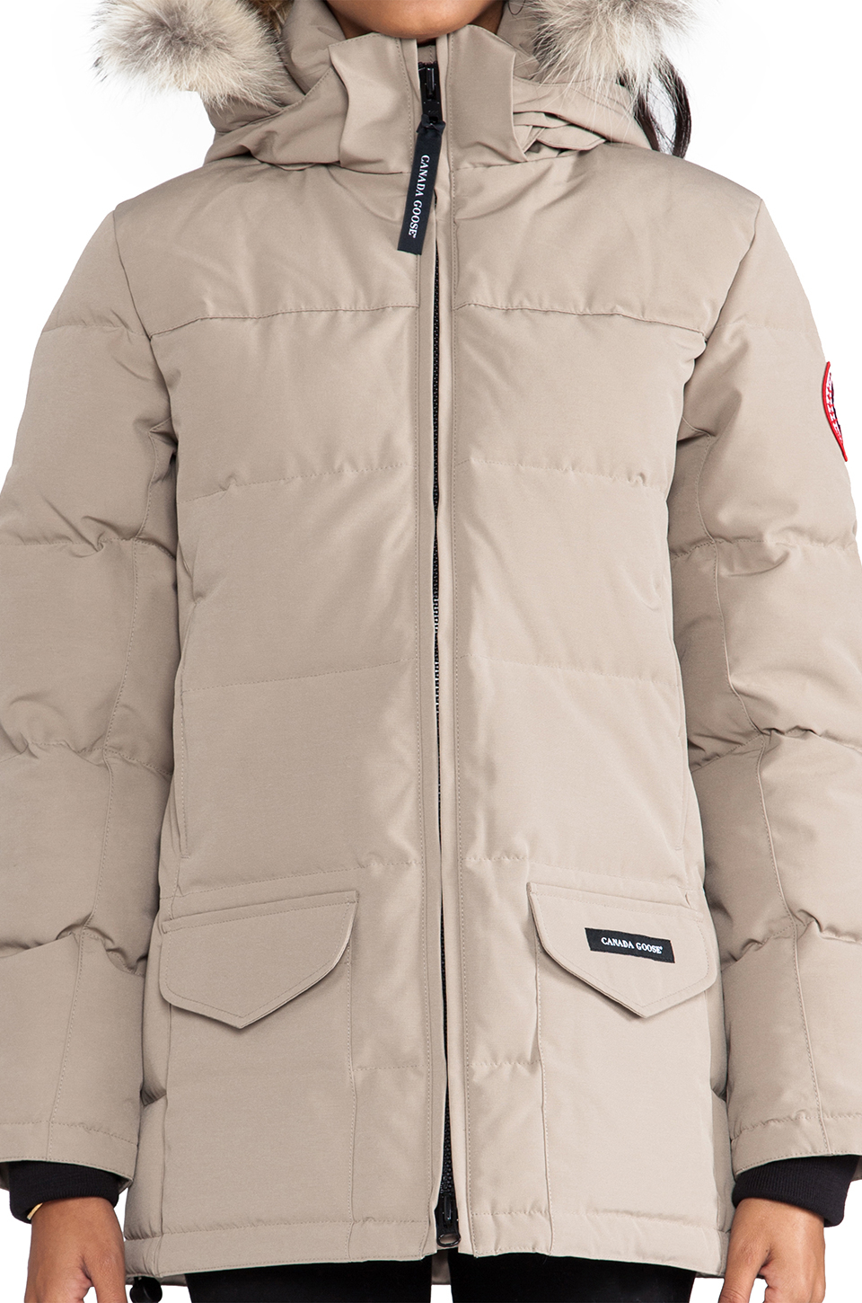 Canada Goose montebello parka replica shop - Canada goose Solaris Parka With Coyote Fur in Brown (Tan) | Lyst