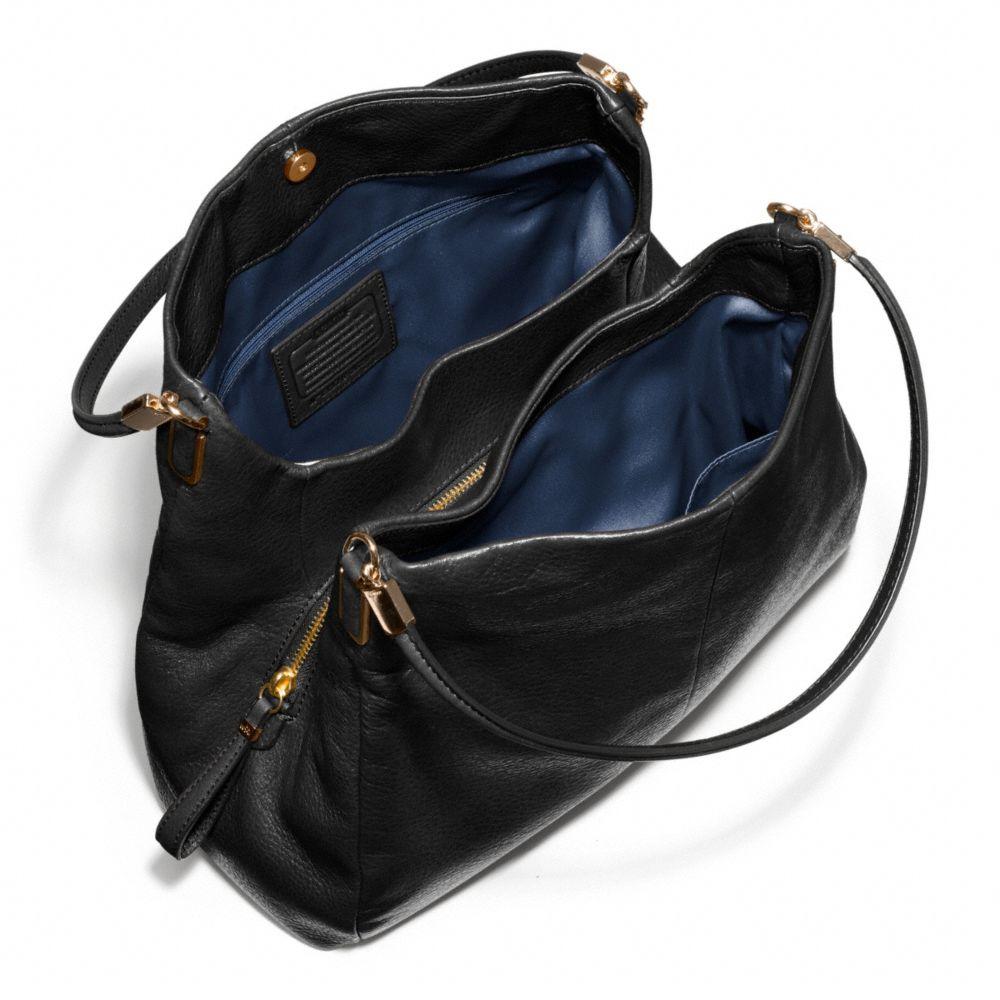 c95e1e7729e1 ... promo code for lyst coach madison leather sm phoebe shoulder bag in  black c9dd1 96862