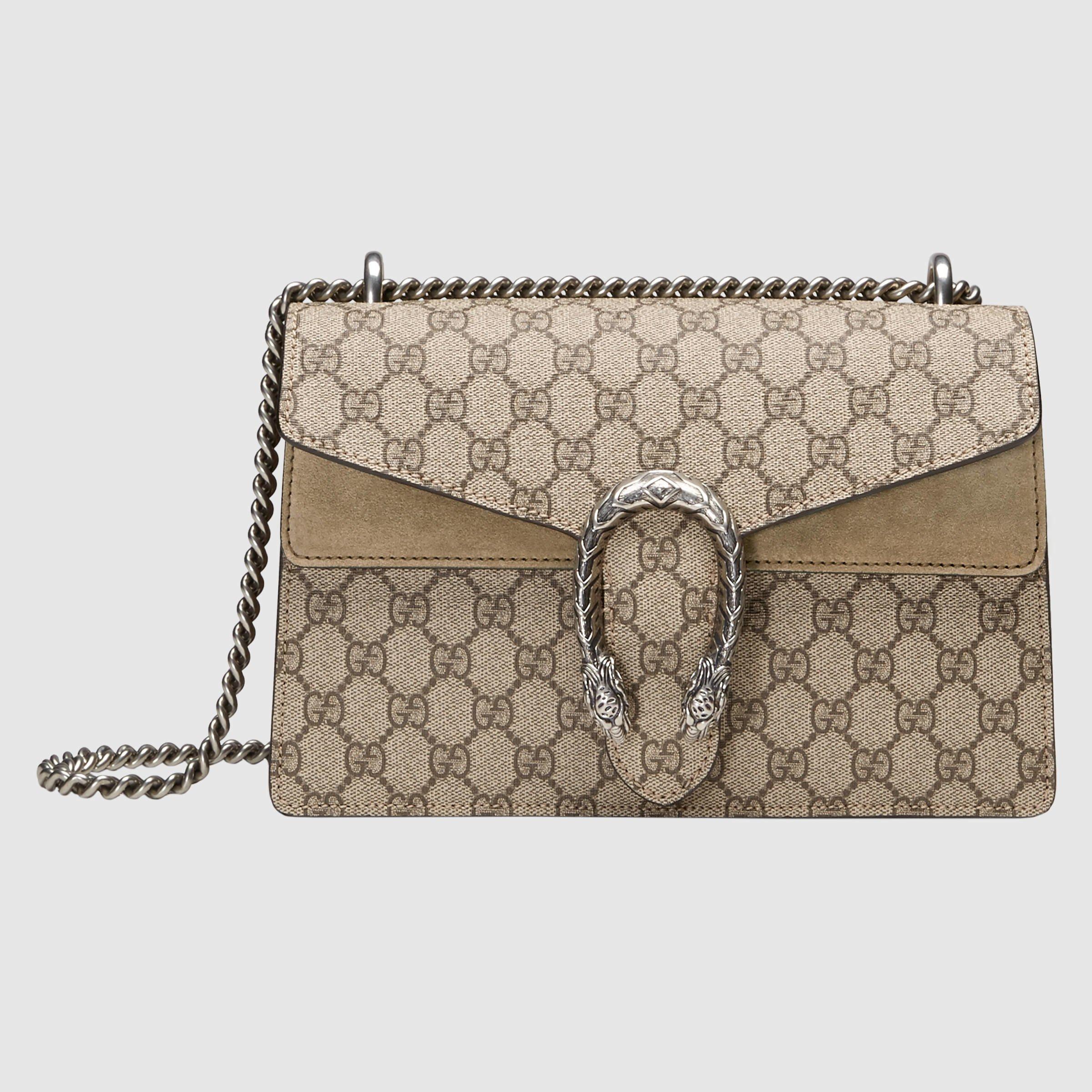 Gucci Dionysus Gg Supreme Shoulder Bag in Multicolor ...