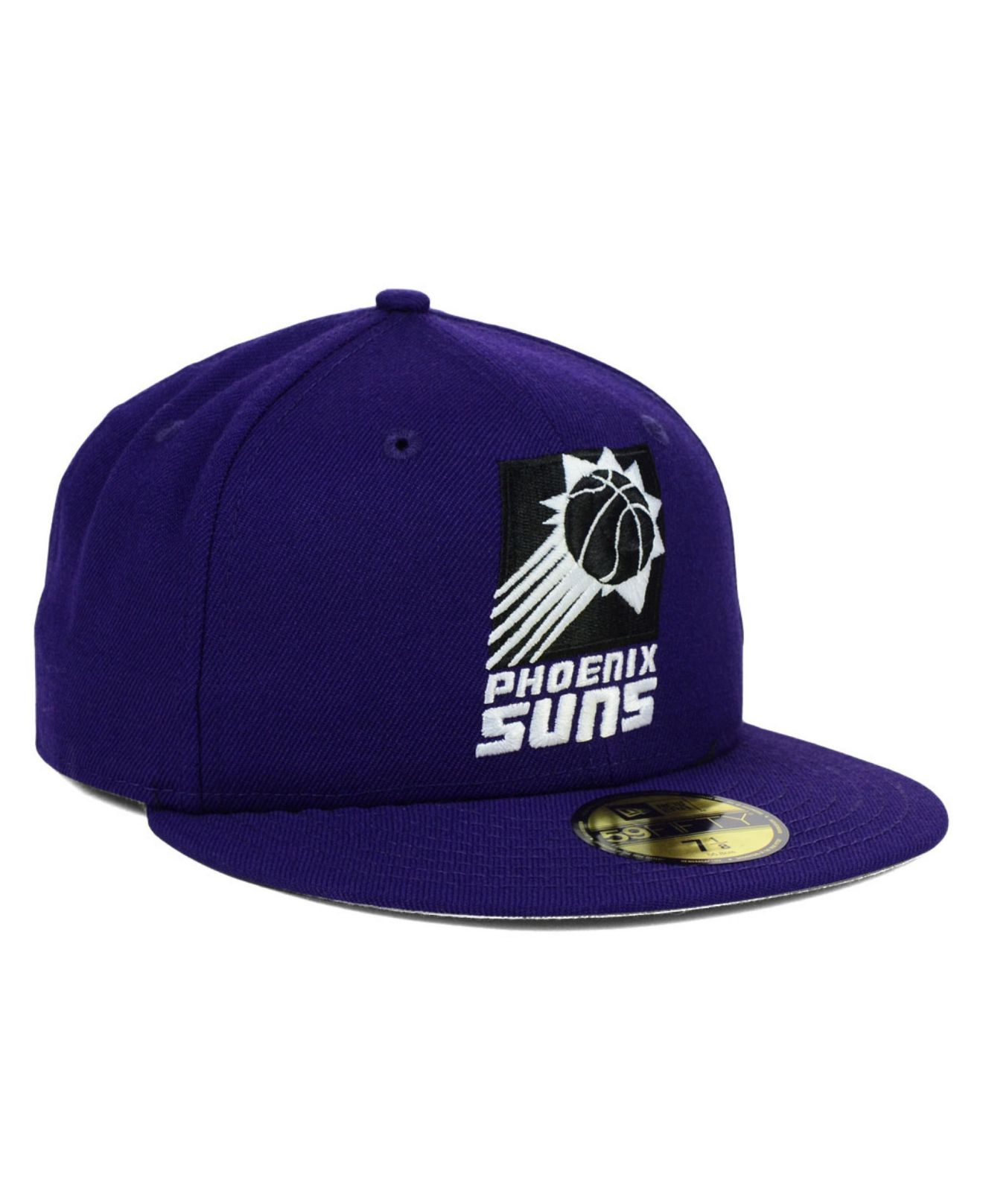 timeless design 6525d 5adbe Lyst - Ktz Phoenix Suns Back To Basic 59fifty Cap in Purple for Men