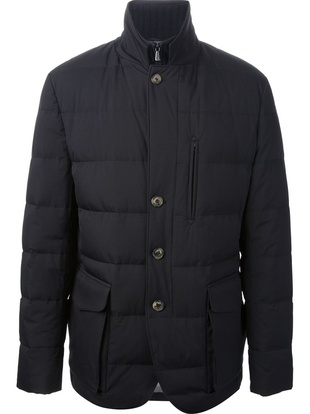 Loro piana Storm Feather Down Jacket in Black for Men | Lyst