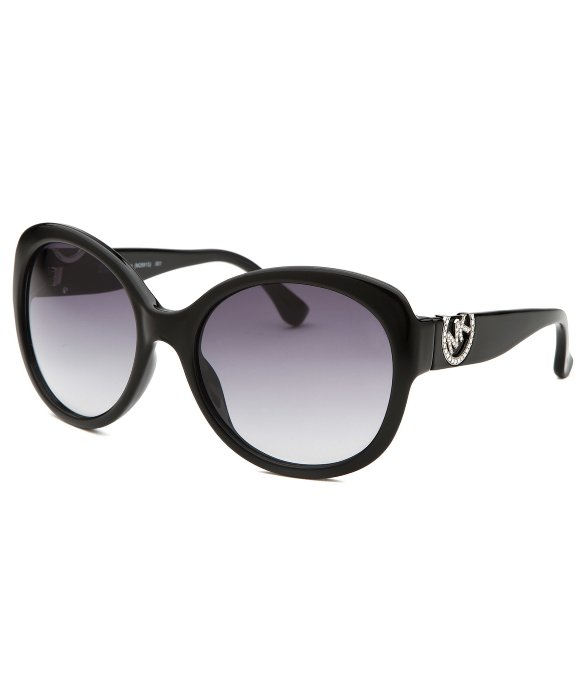 Michael Kors Montrose Sunglasses  michael michael kors women s tori black round sunglasses in black