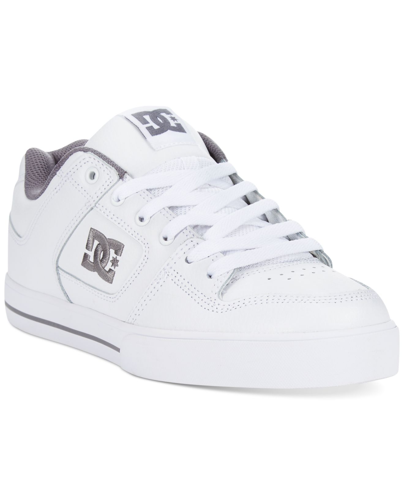 dc shoes pure sneakers in white for men lyst. Black Bedroom Furniture Sets. Home Design Ideas