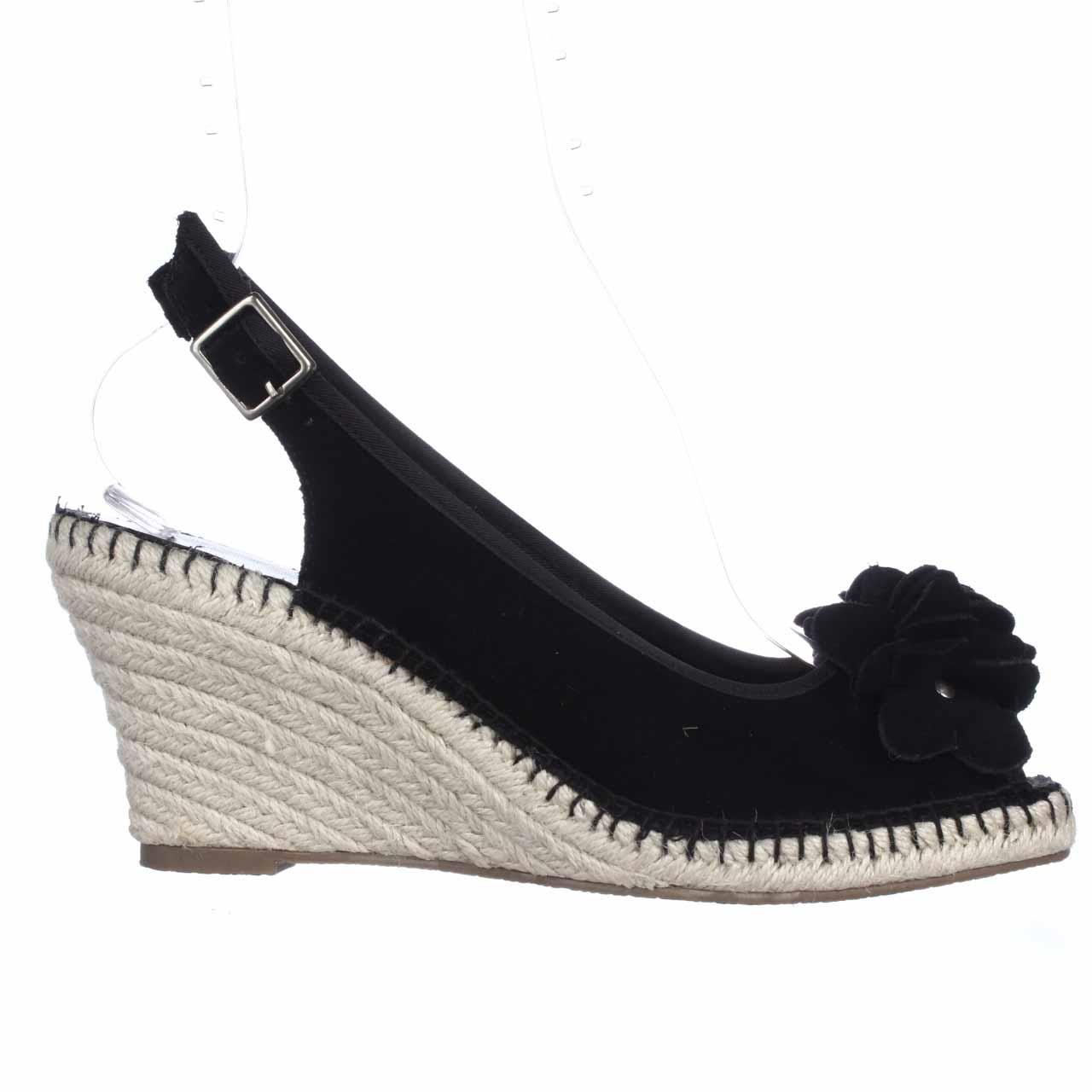 bandolino cordelia espadrille slingback wedge sandals in