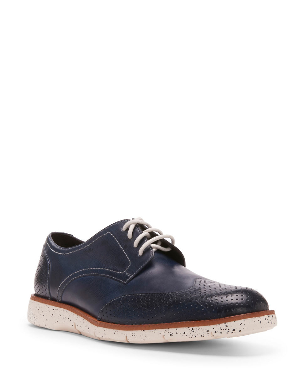 Size  Navy Blue Wingtip Shoes