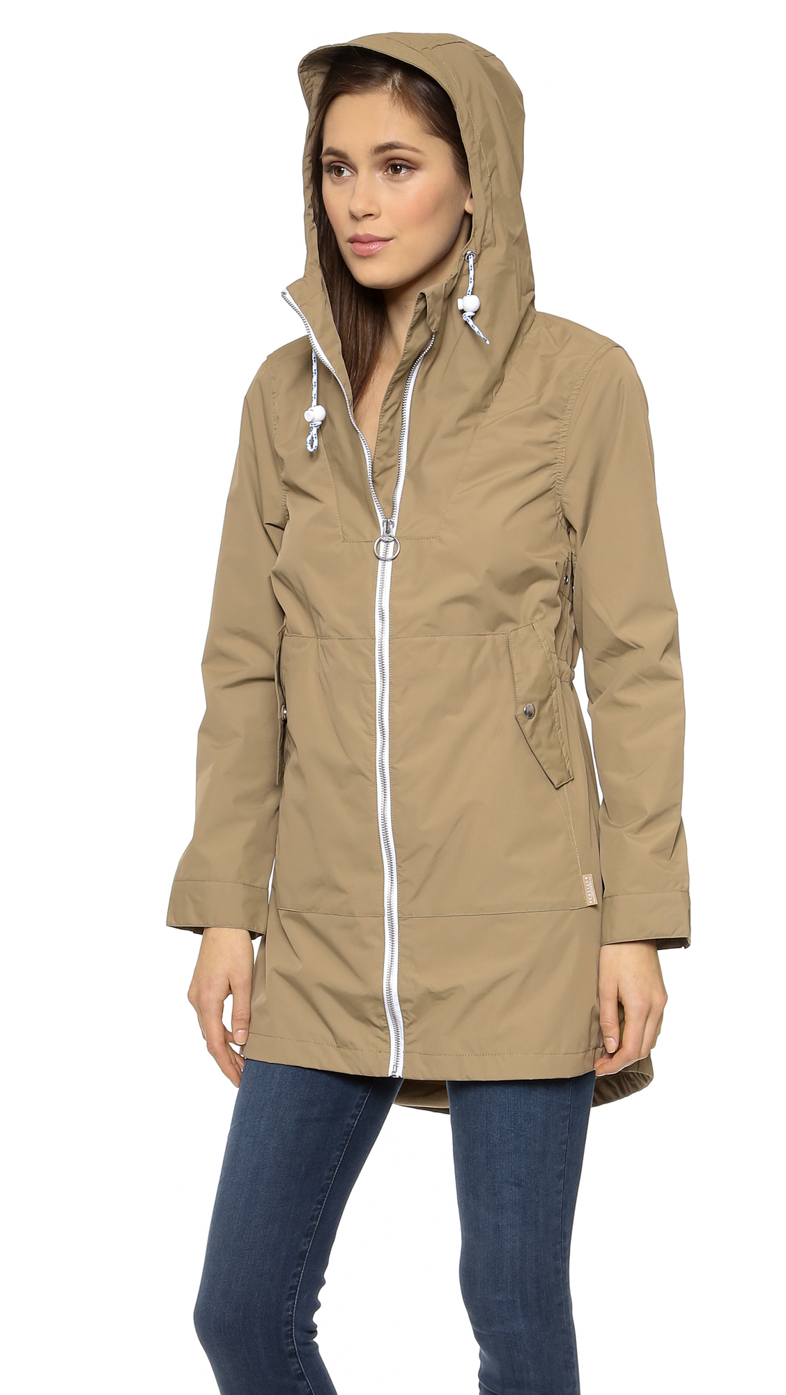 Penfield Gibson Rain Jacket - Gold in Natural | Lyst