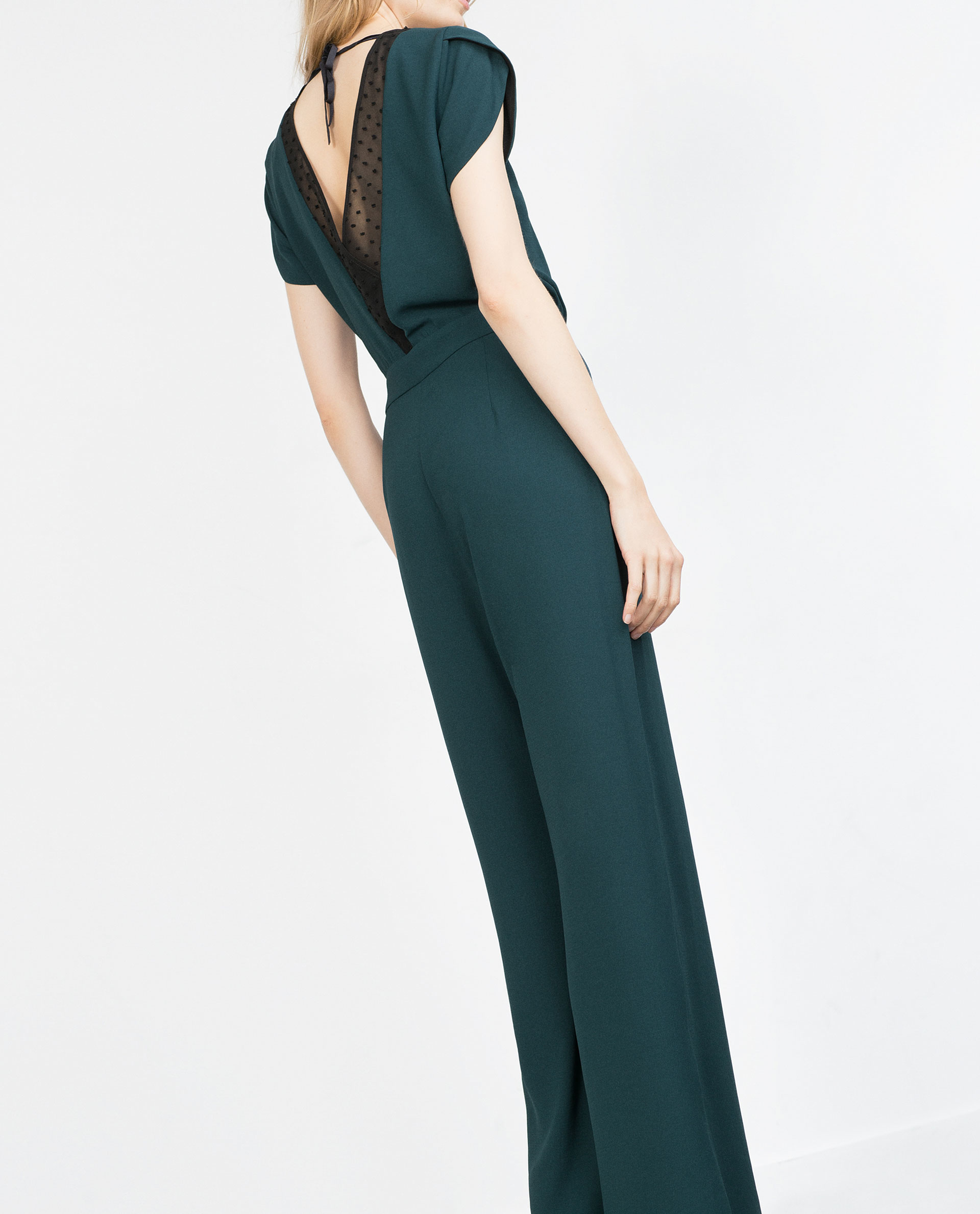Cool Zara Jumpsuits  Green Sandals