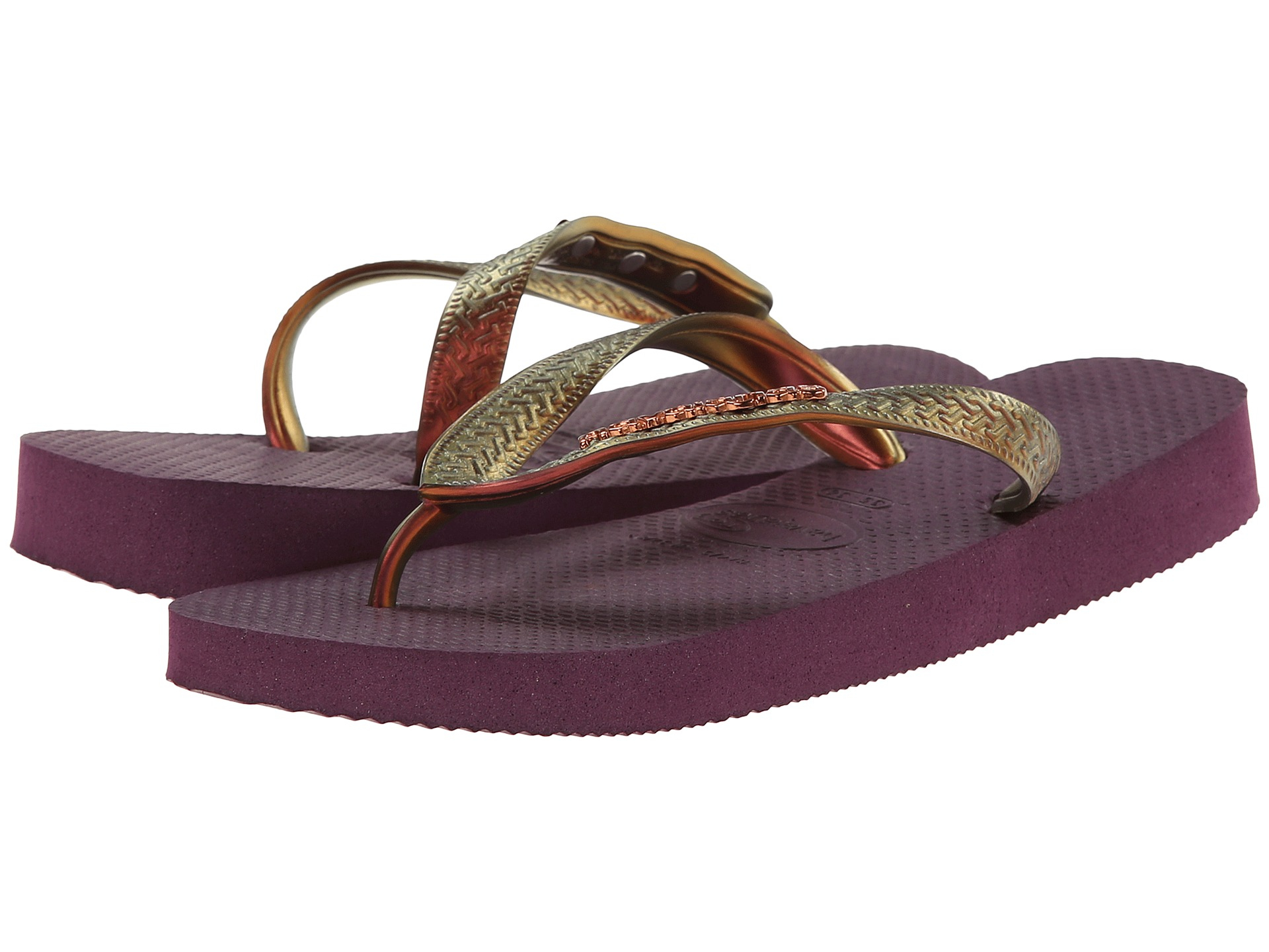 76d3c9f53 Lyst - Havaianas Top Furta Cor Flip Flop in Purple