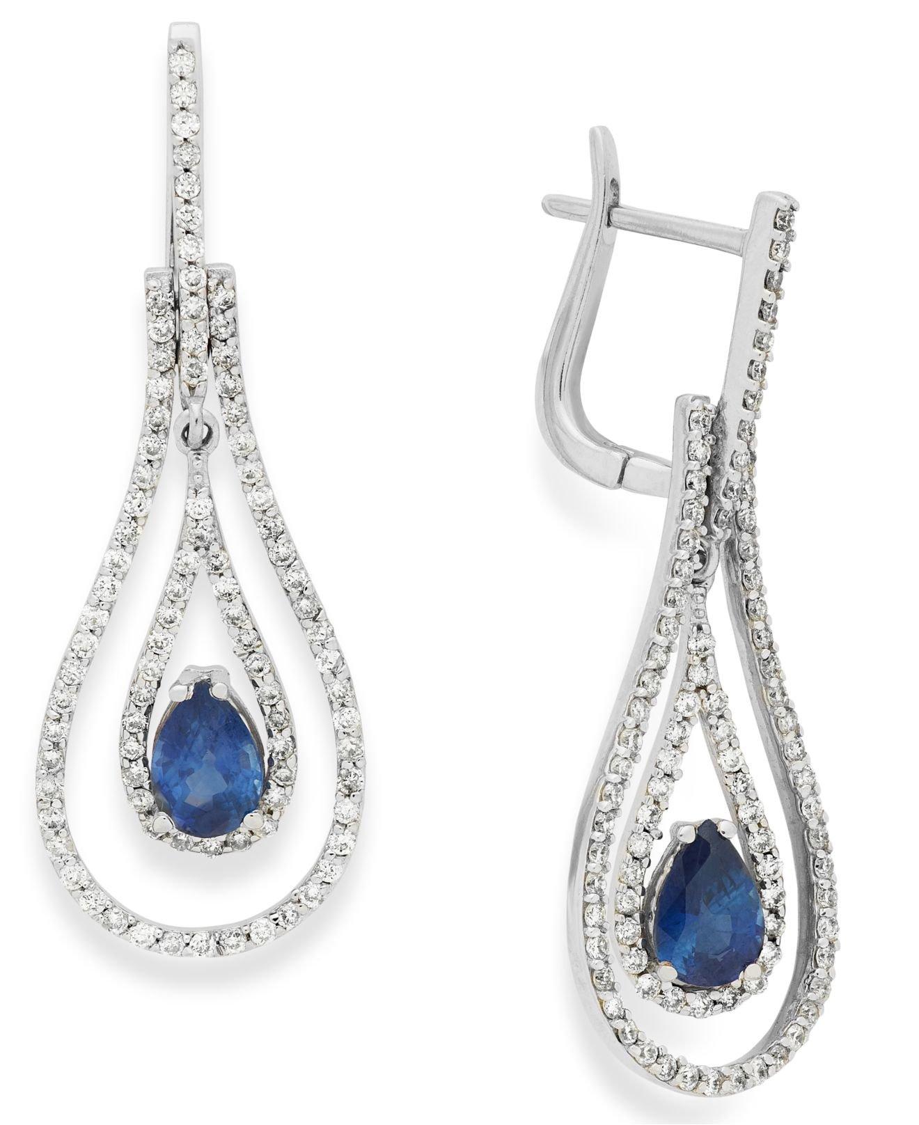 Sapphire Earrings Macys Collection