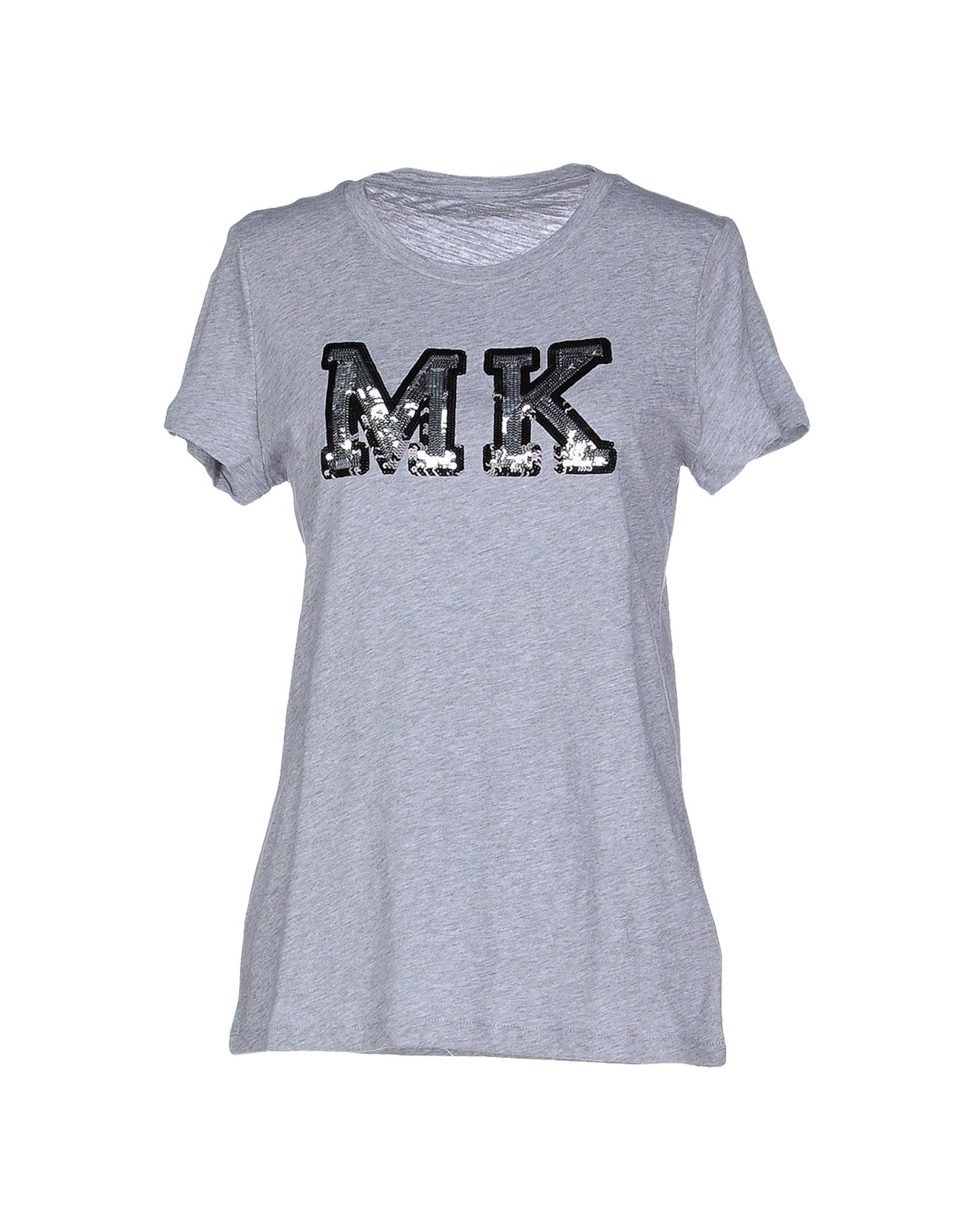 michael michael kors t shirt in gray lyst. Black Bedroom Furniture Sets. Home Design Ideas