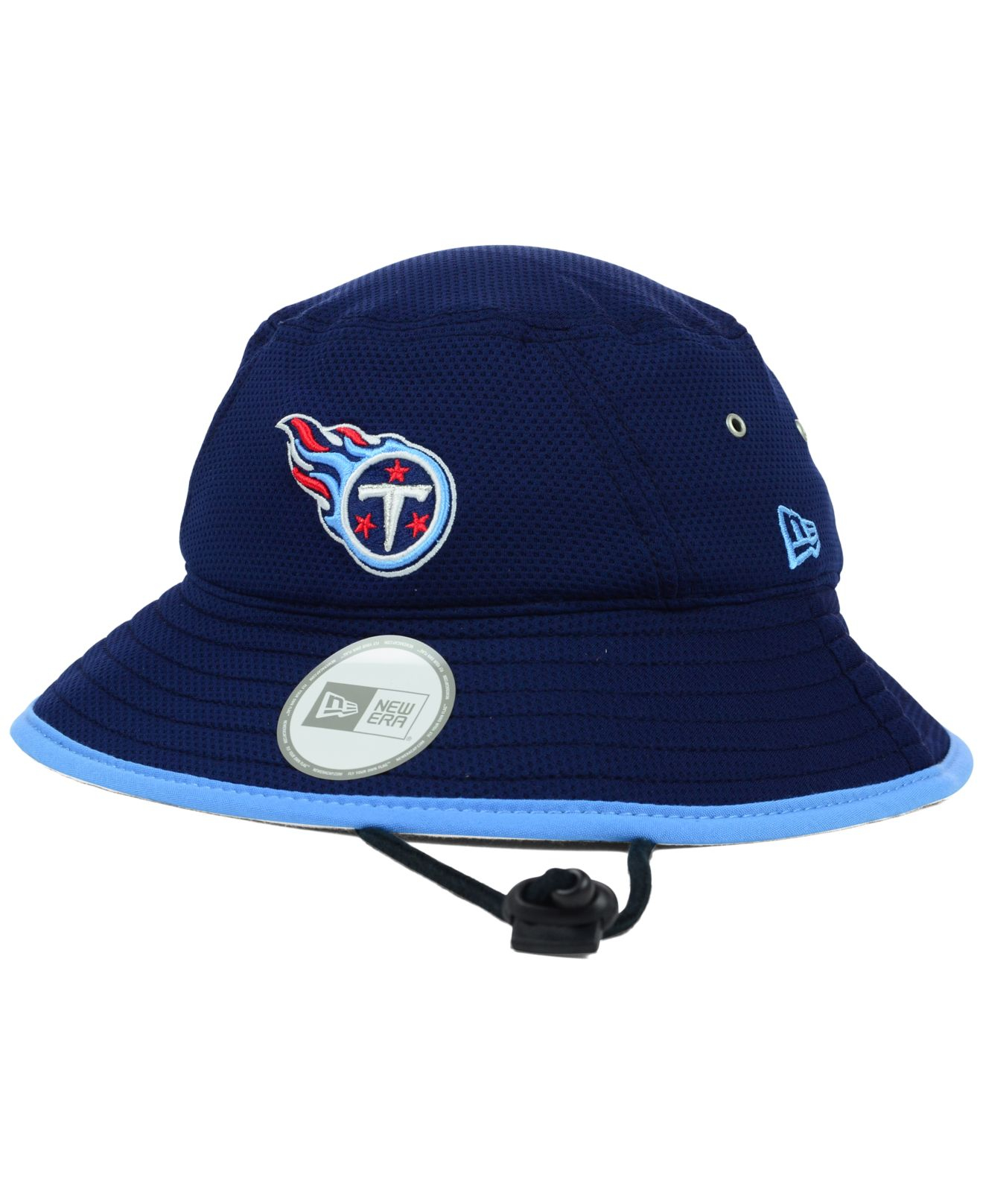 Lyst - KTZ Tennessee Titans Tc Training Bucket Hat in Blue for Men 7d1b60c2b3b