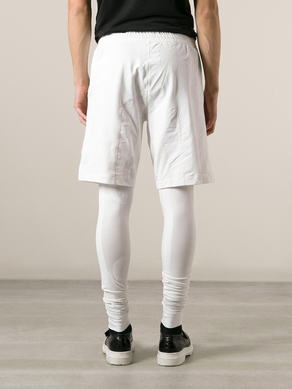 White Leggings For Men - The Else