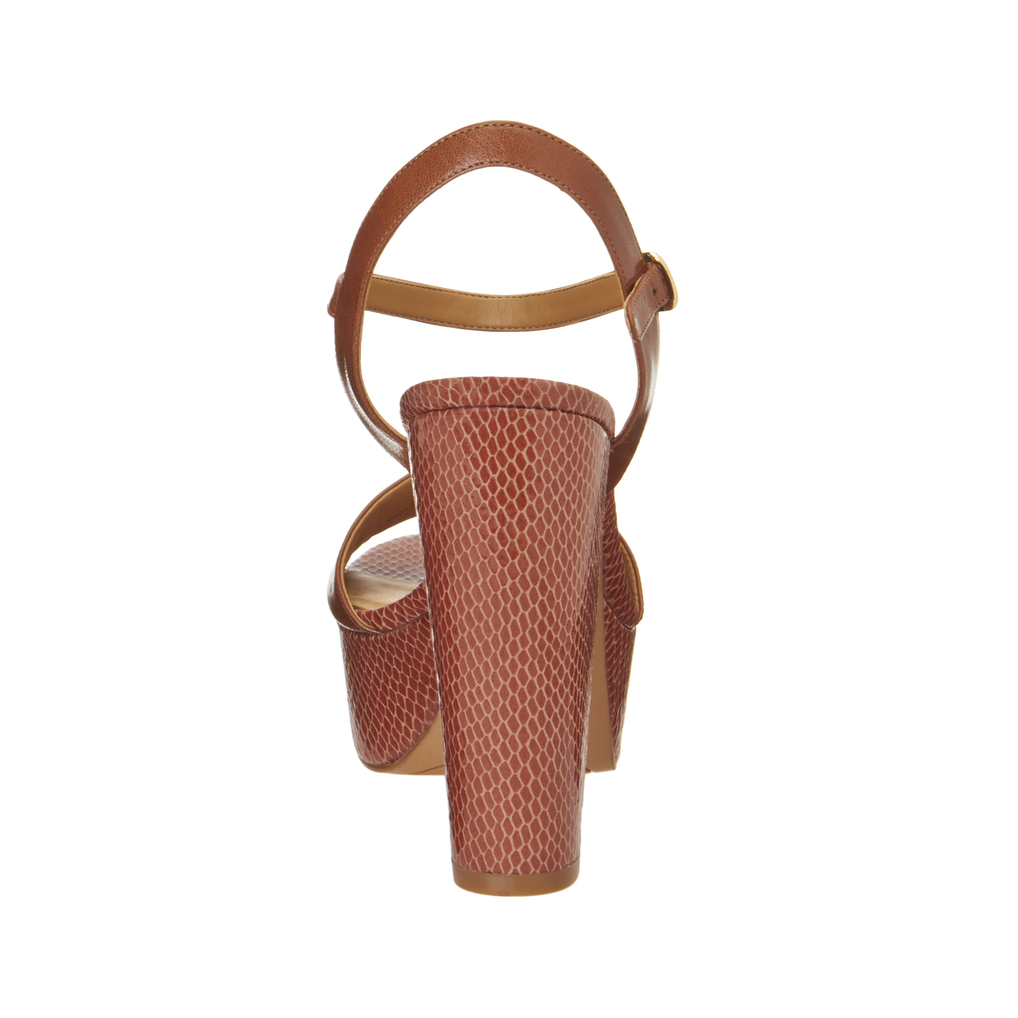 02eeaaea2a4b Lyst - Nine West Carnation Platform Sandals in Natural