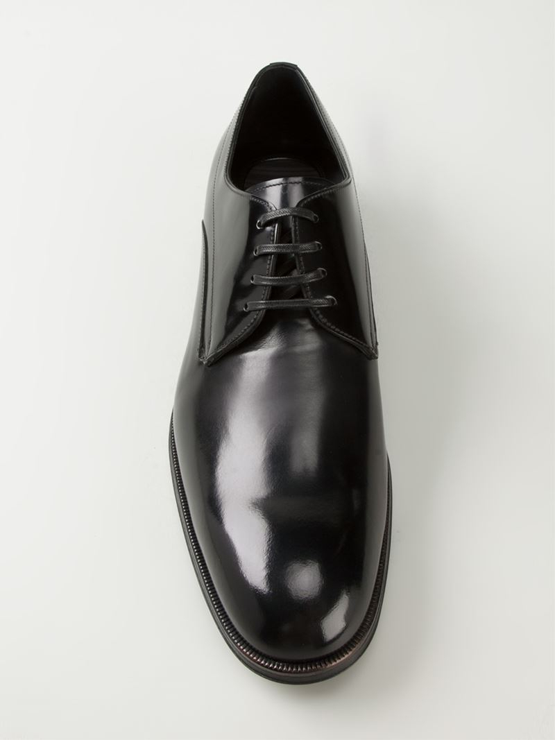 Dolce & Gabbana 'siena' Derby Shoes in Black for Men