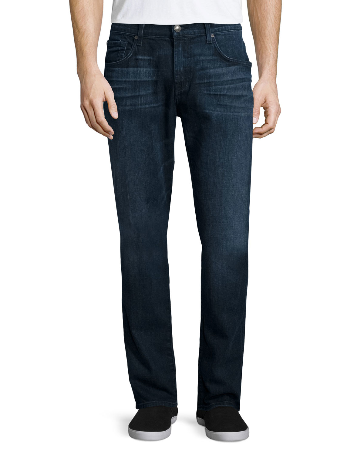 7 for all mankind straight leg foolproof denim jeans in. Black Bedroom Furniture Sets. Home Design Ideas