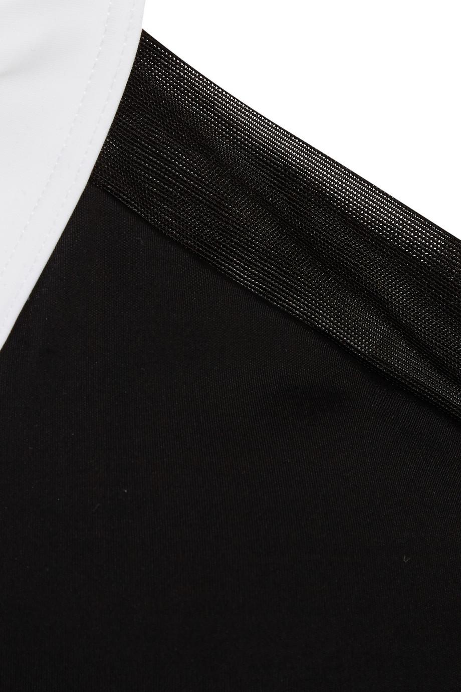 ee8b2eabfb Lyst - Calvin Klein Flex Motion Convertible Mesh-trimmed Stretch ...
