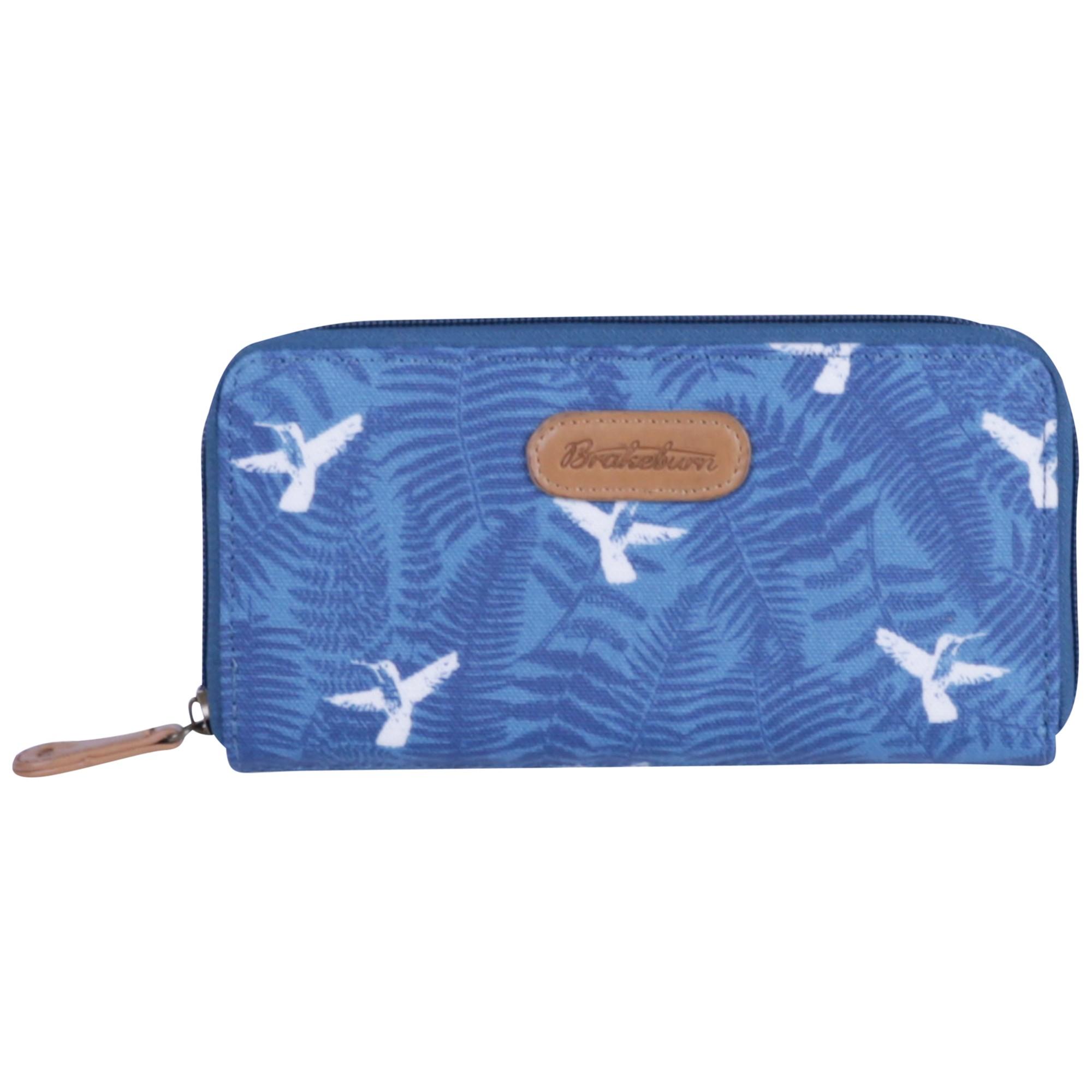 17e6a5fb27ae Brakeburn Hummingbird Fern Large Coated Canvas Purse in Blue - Lyst