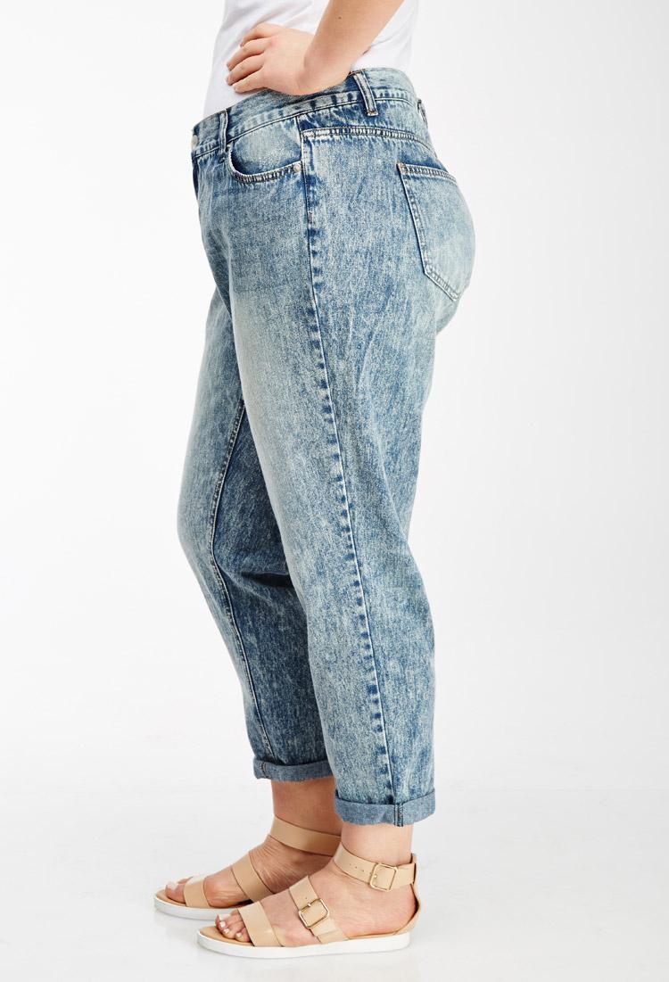 tally weijl damen boyfriend jeans spadetomcat grau acid wash grey hga 34. Black Bedroom Furniture Sets. Home Design Ideas