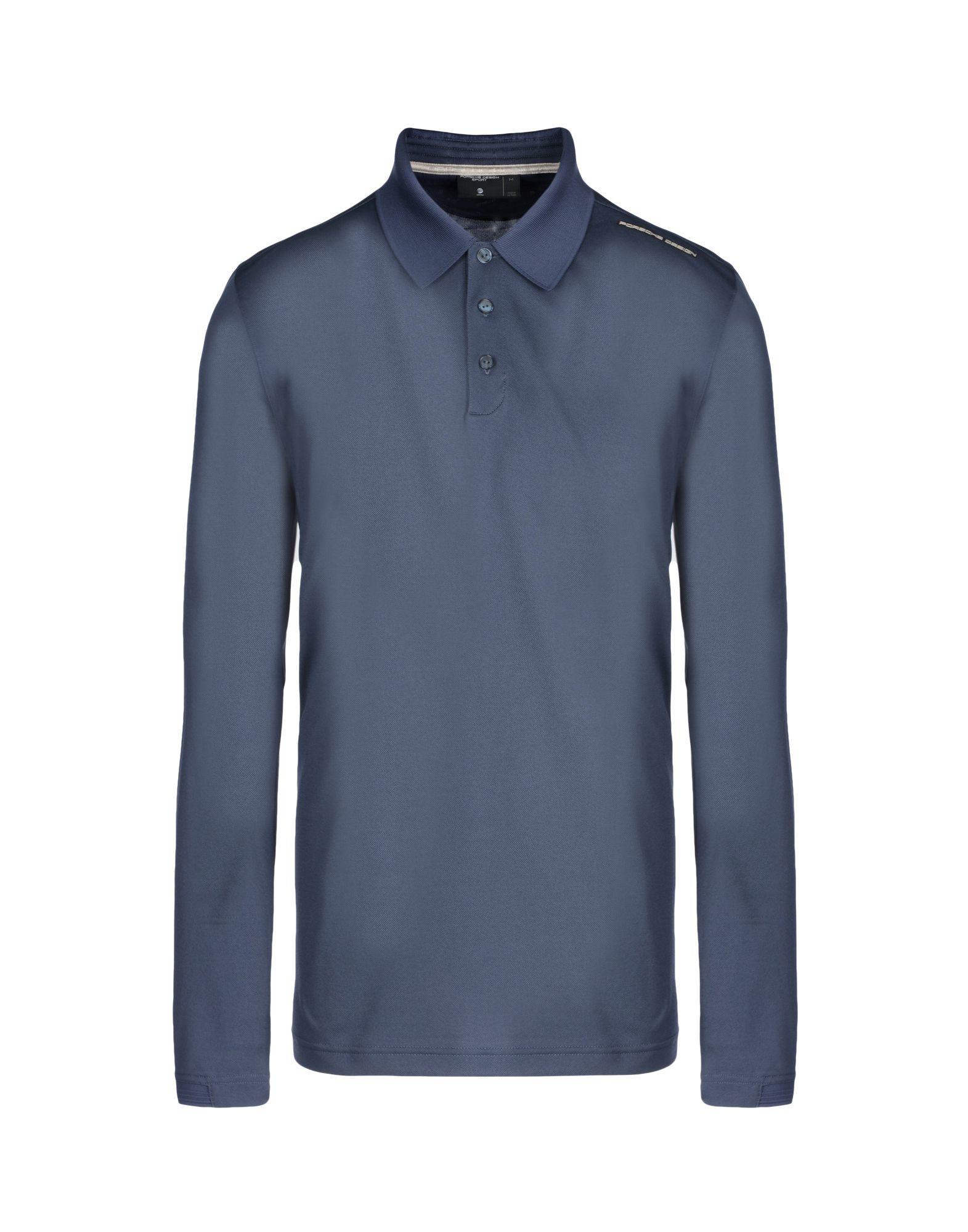 Porsche Design Polo Shirt In Blue For Men Lyst