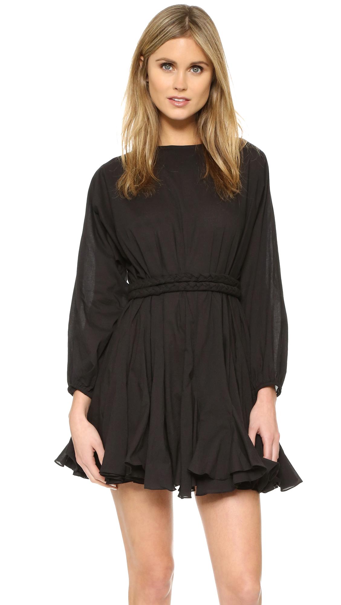 b4771d6ba9559e Lyst - Rhode Resort Ella Dress in Black