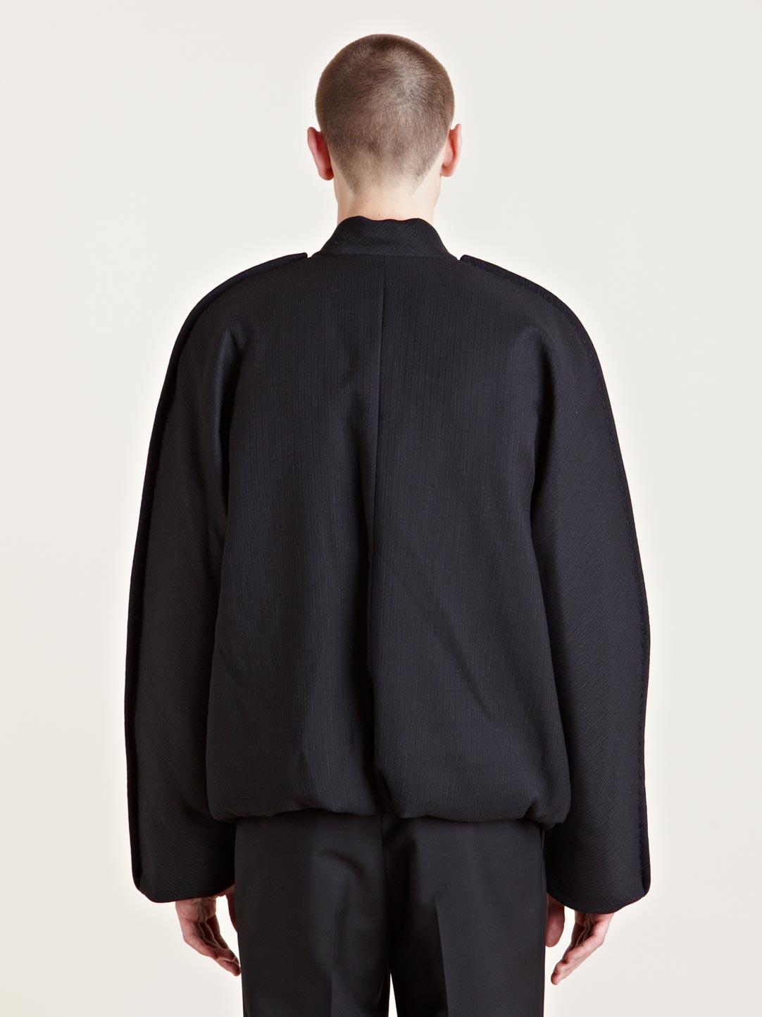 Lyst - Lanvin Mens Blouson Bomber Jacket in Black for Men