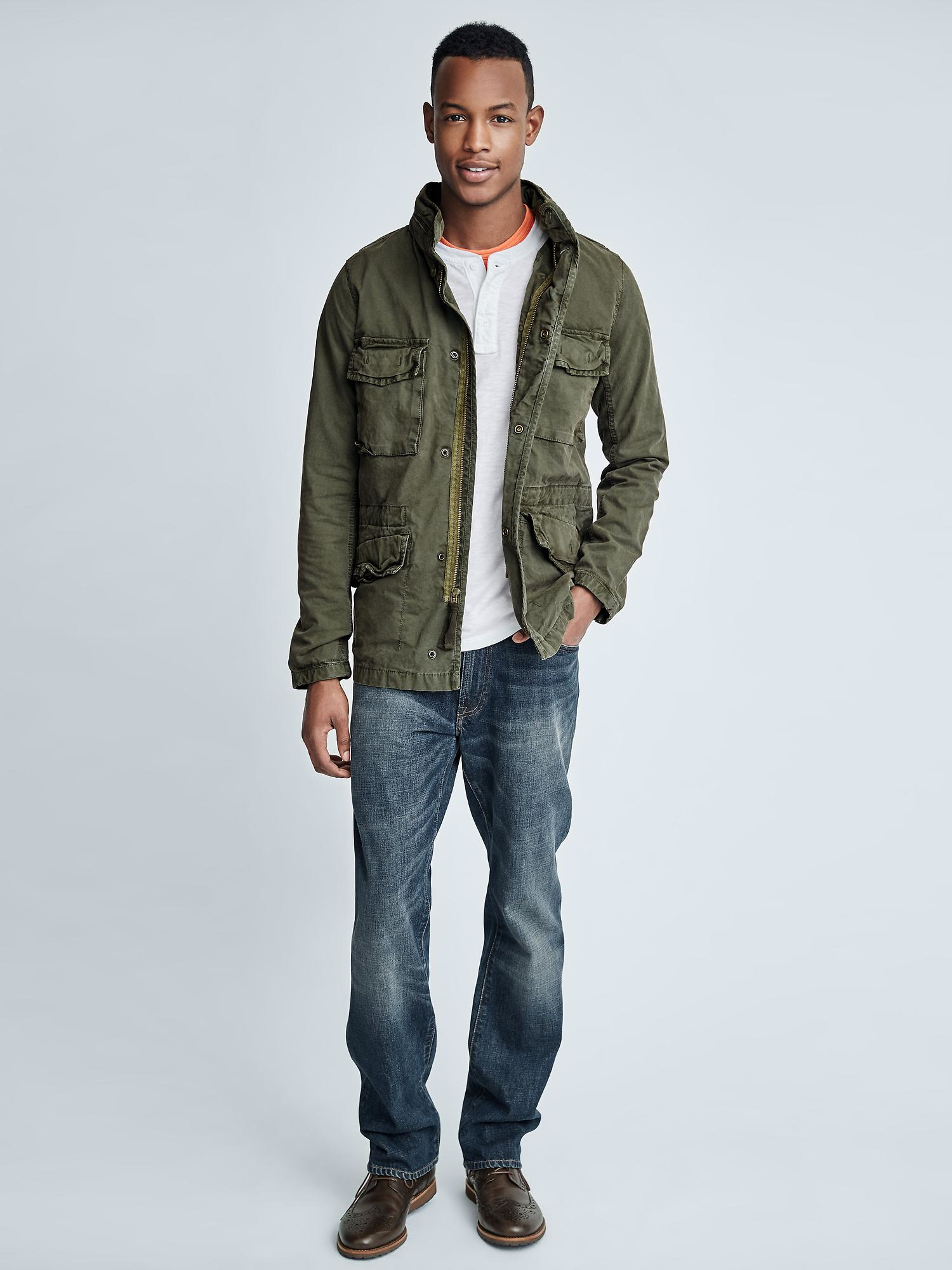 Fatigues Army Navy can outfit you in our full collection of Vintage Jackets, military inspired and outdoor approved. Here you can find that vintage washed out look and feel Army Jacket that you have been in .