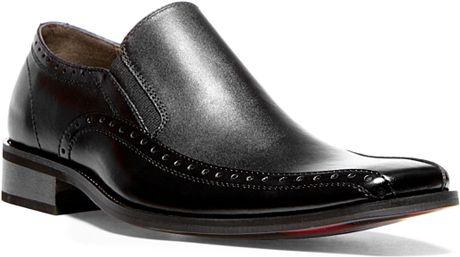 Steve Madden Kaptive Slip-On Dress Shoes in Black for Men