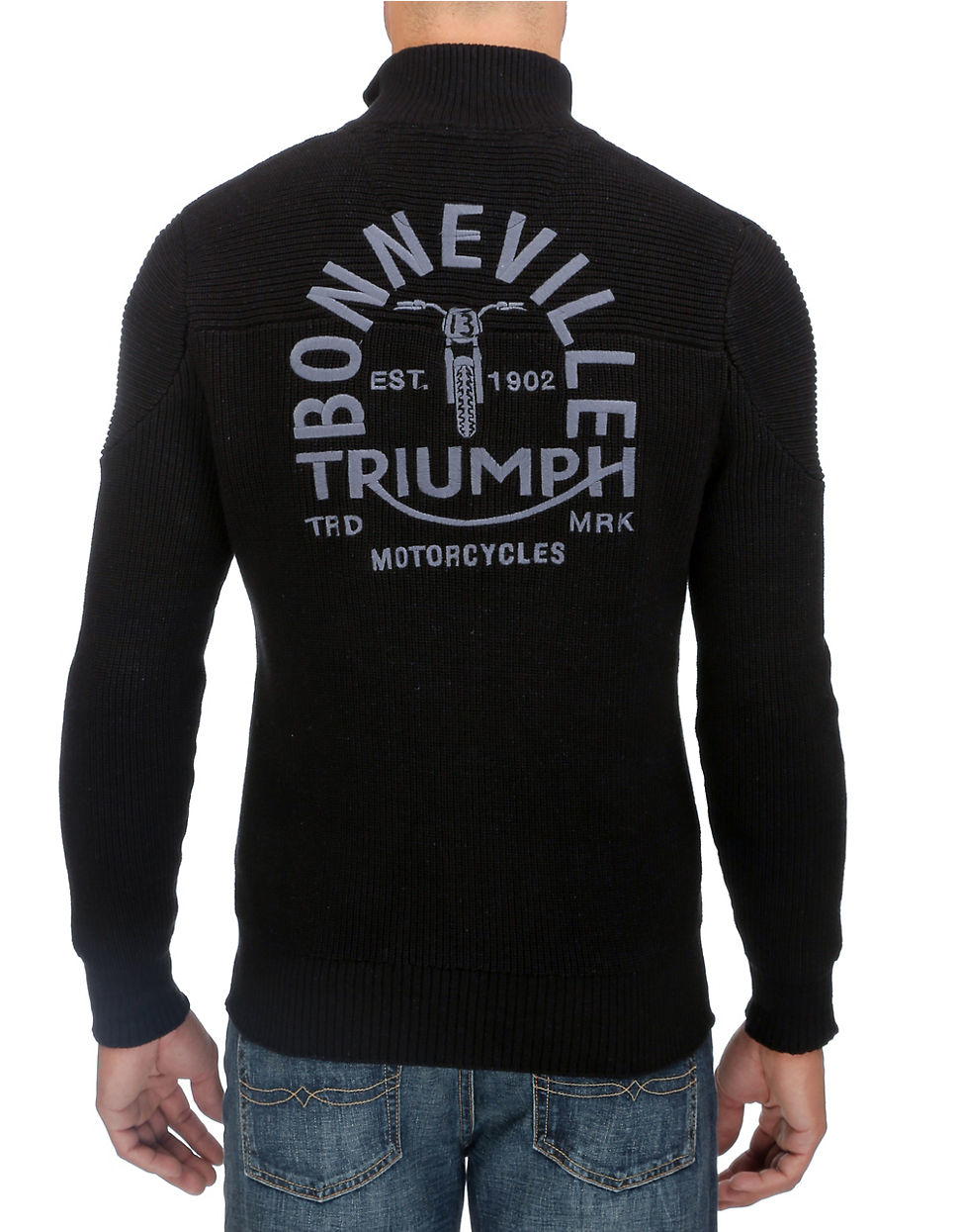 Lyst Lucky Brand Triumph Zip Up In Blue For Men