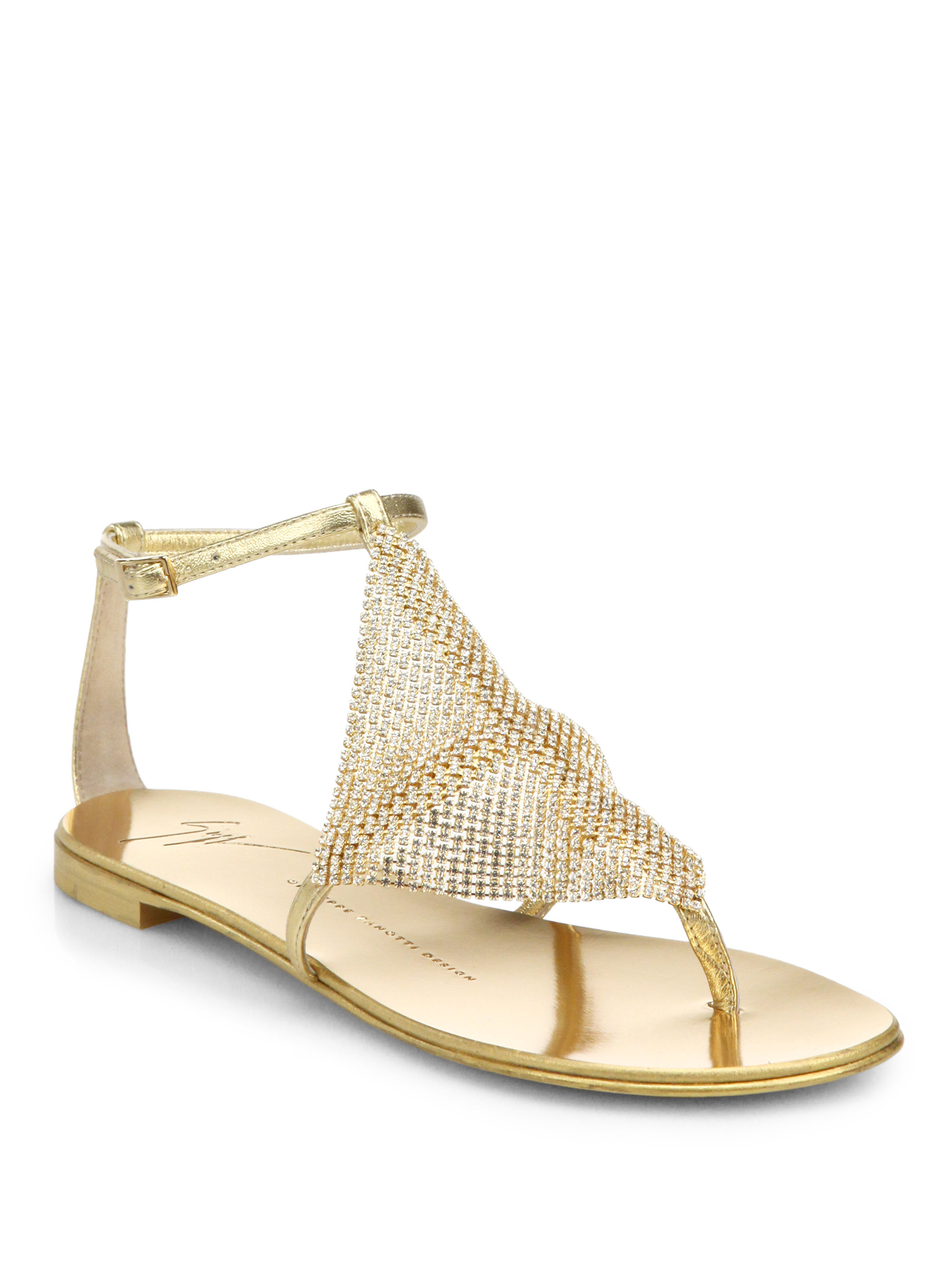 Model Giuseppe Zanotti Leather And Neon Sandals For Women  Women39s Shoes