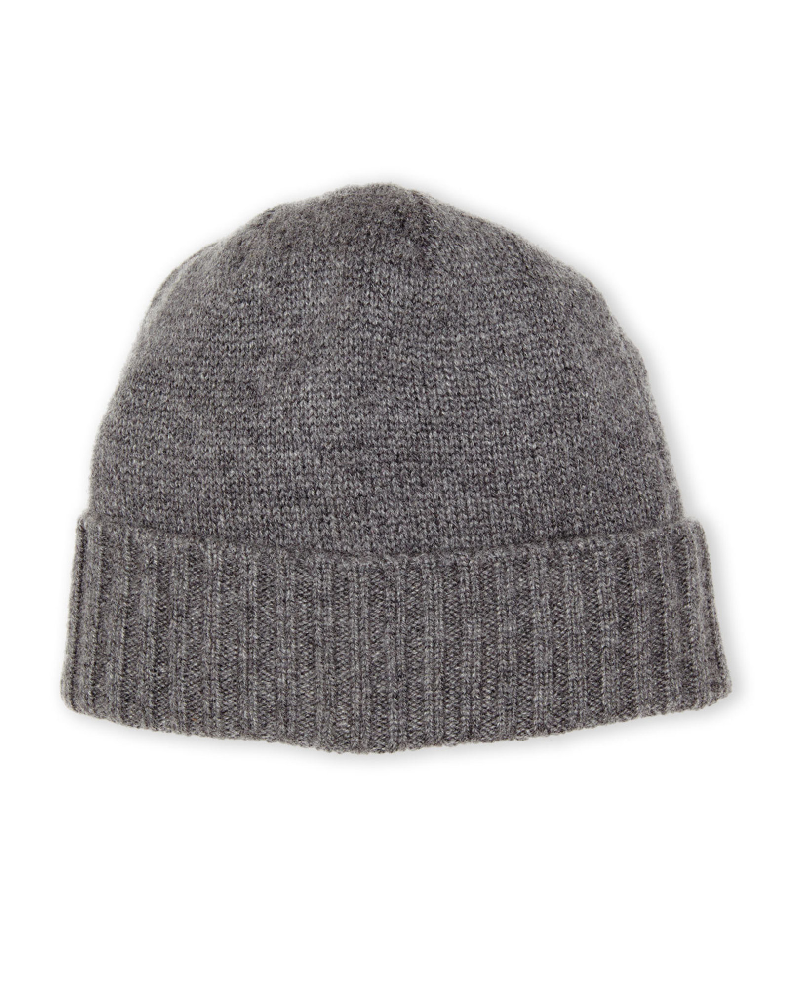 Knitting Pattern Cashmere Hat : Elmer little by swany Cashmere Knit Hat in Gray for Men Lyst