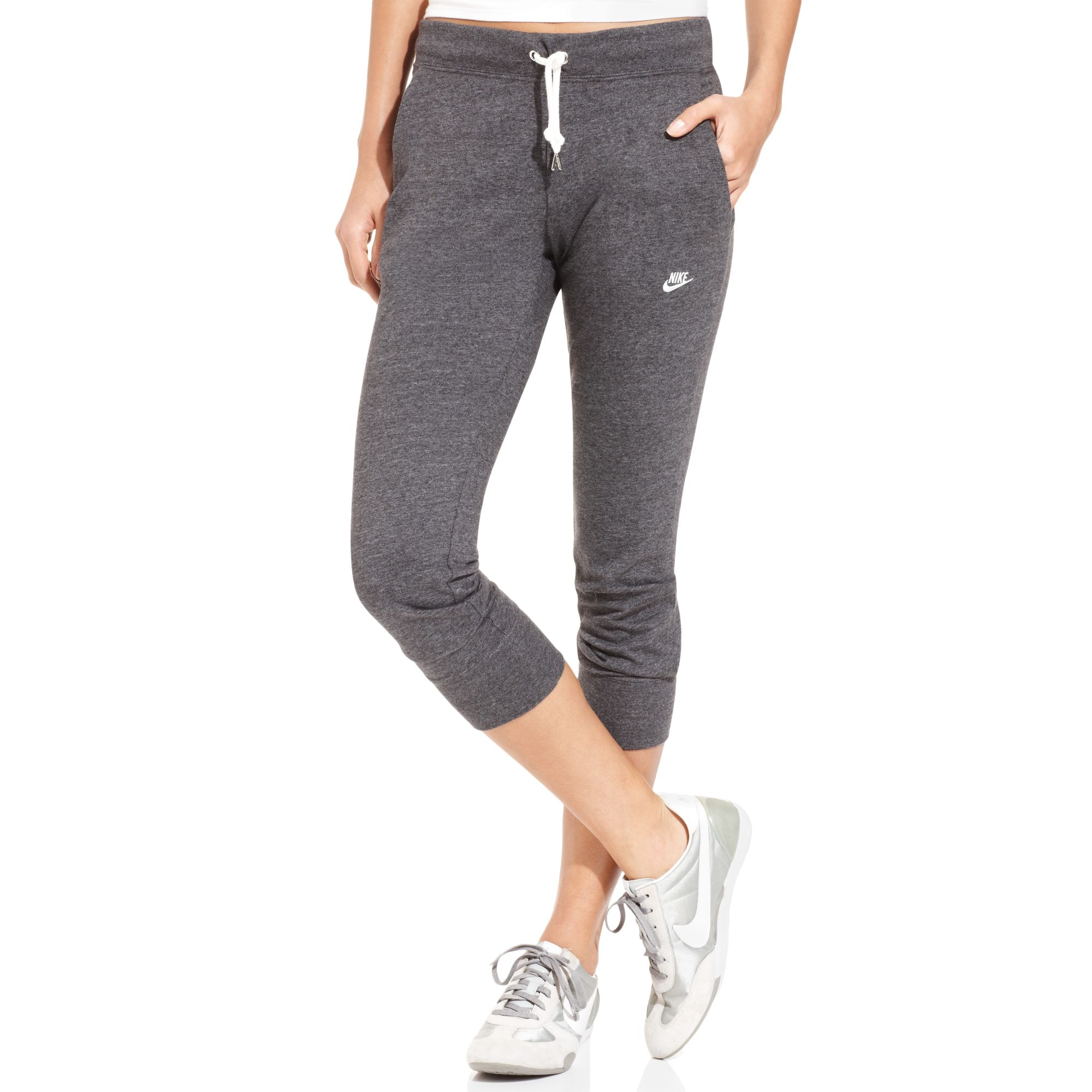 Wonderful Nike Gym Vintage Sweatpants In Gray  Lyst