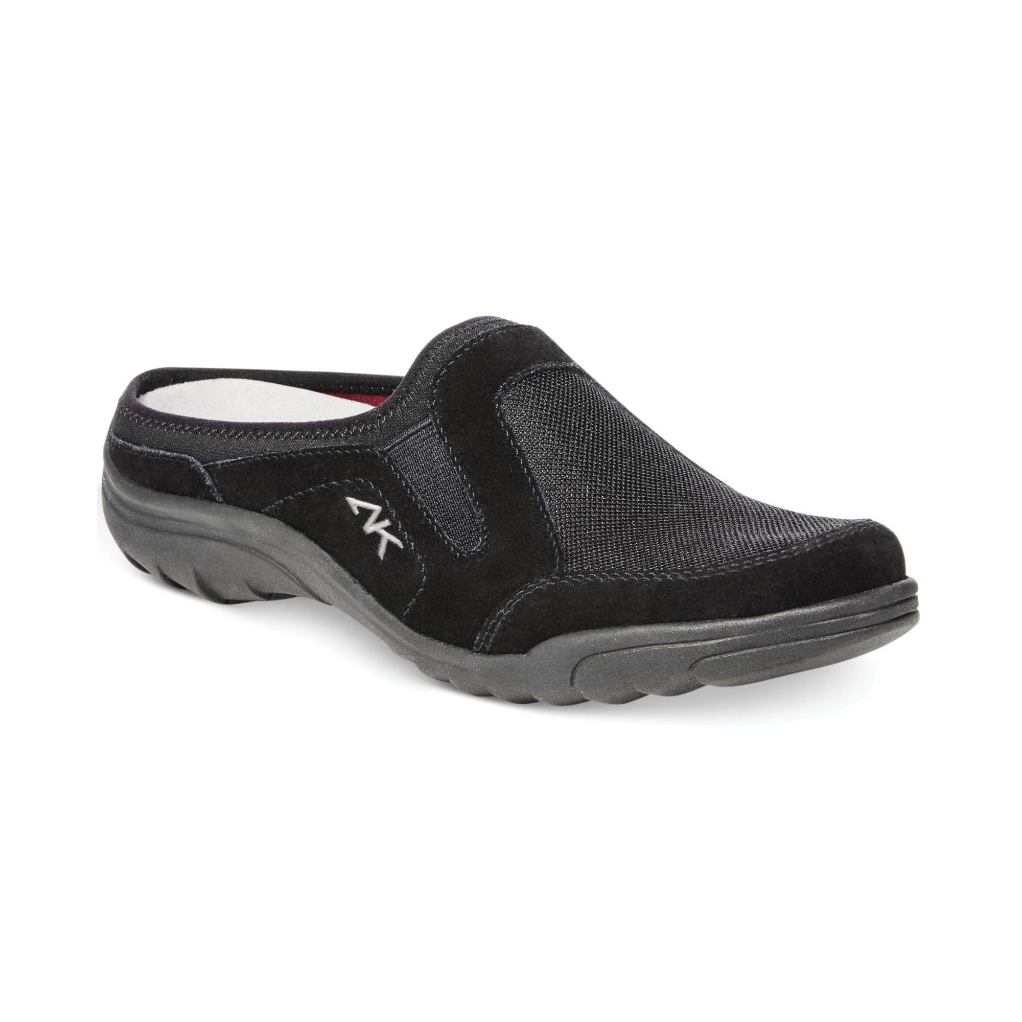 klein ak garabina sport slide sandals in black lyst
